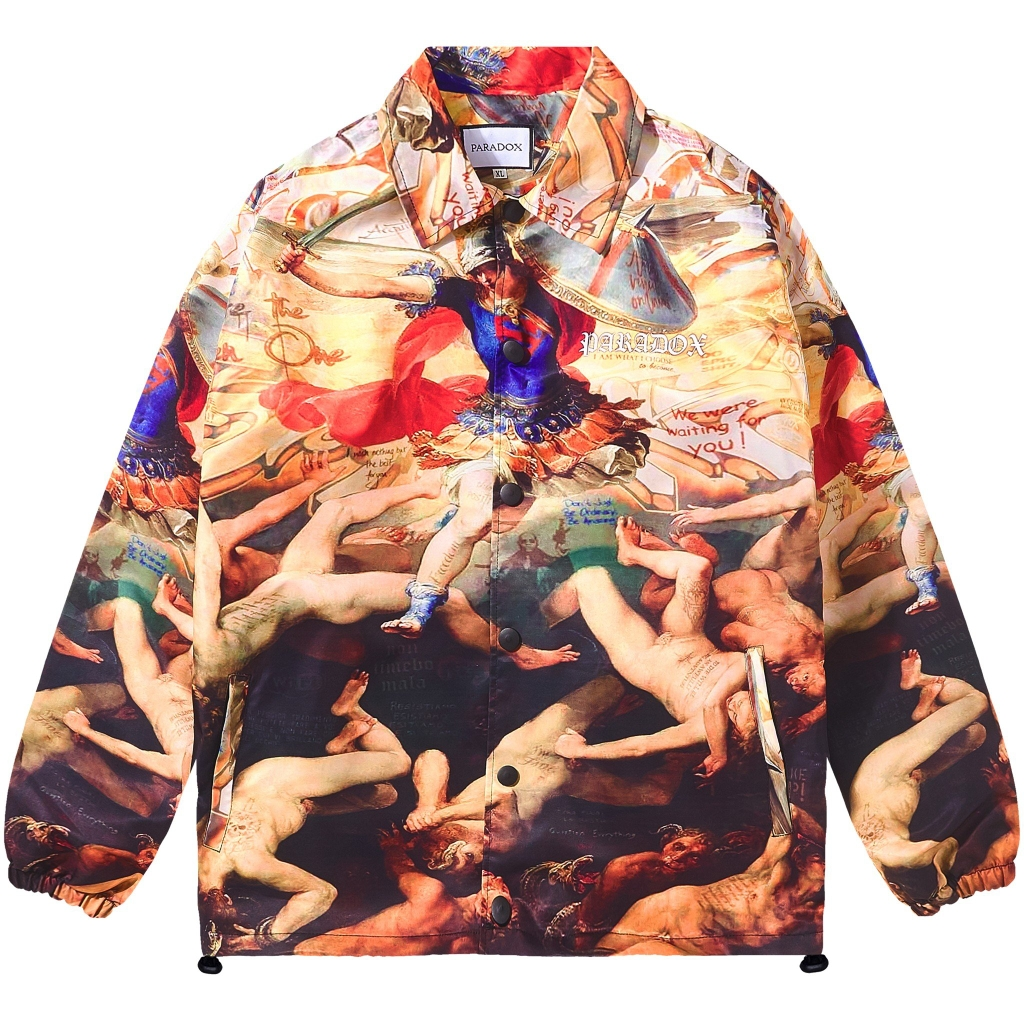 PSYHI OVER-PRINTED JACKET