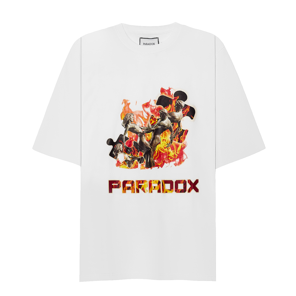 IN THE FIRE TEE (White)