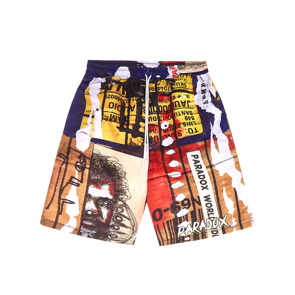 VANDAL OVER-PRINTED SHORT