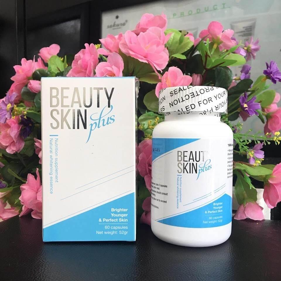 Viên uống Beauty Skin Plus giá bao nhiêu? Có tốt không? Mua ở đâu chính hãng?   Mỹ Phẩm Mega