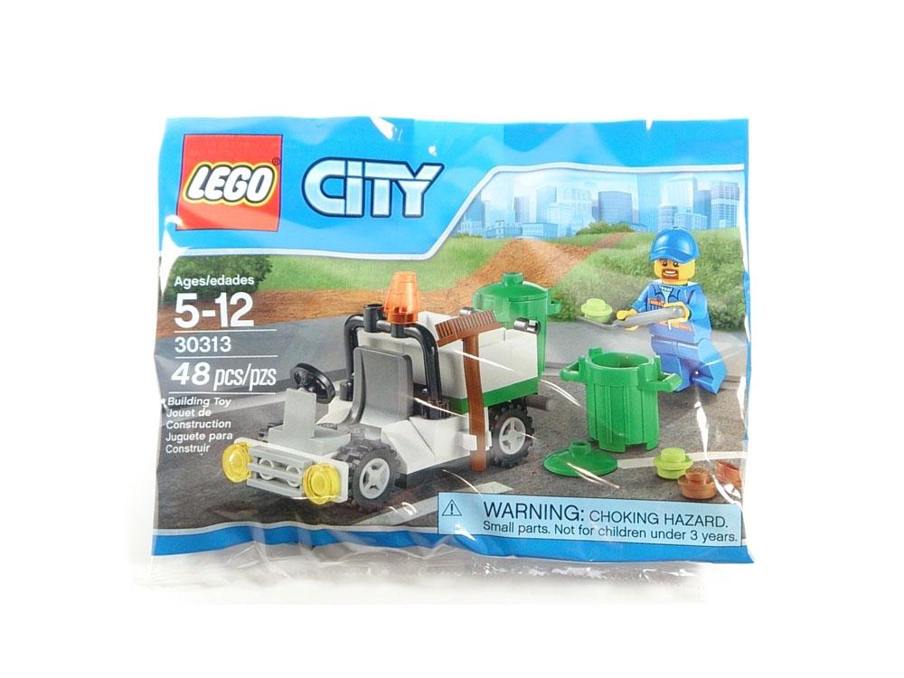 Mùa hè xanh - Nhận quà thả phanh cùng Megamart - Lego City 30313 - Xe Rác