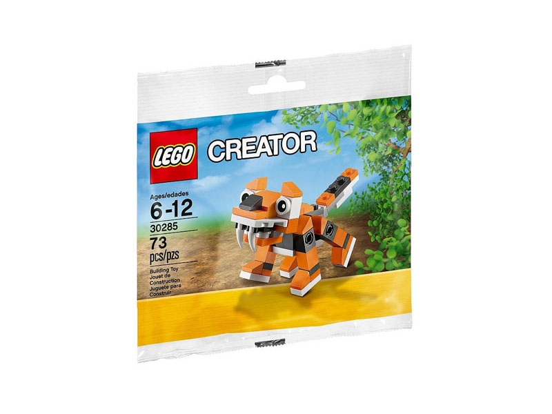Mùa hè xanh - Nhận quà thả phanh cùng Megamart - Lego Creator 30285 - Mô hình hổ