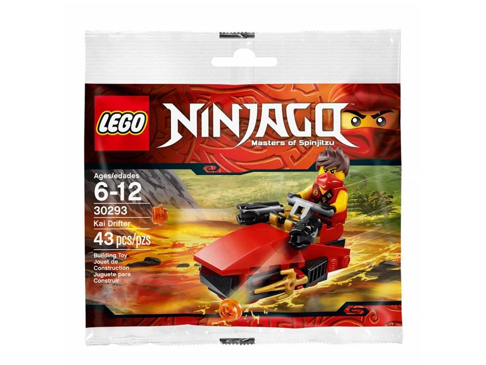 Mùa hè xanh - Nhận quà thả phanh cùng Megamart - Lego Ninjago 30293 - Canô Của Kai