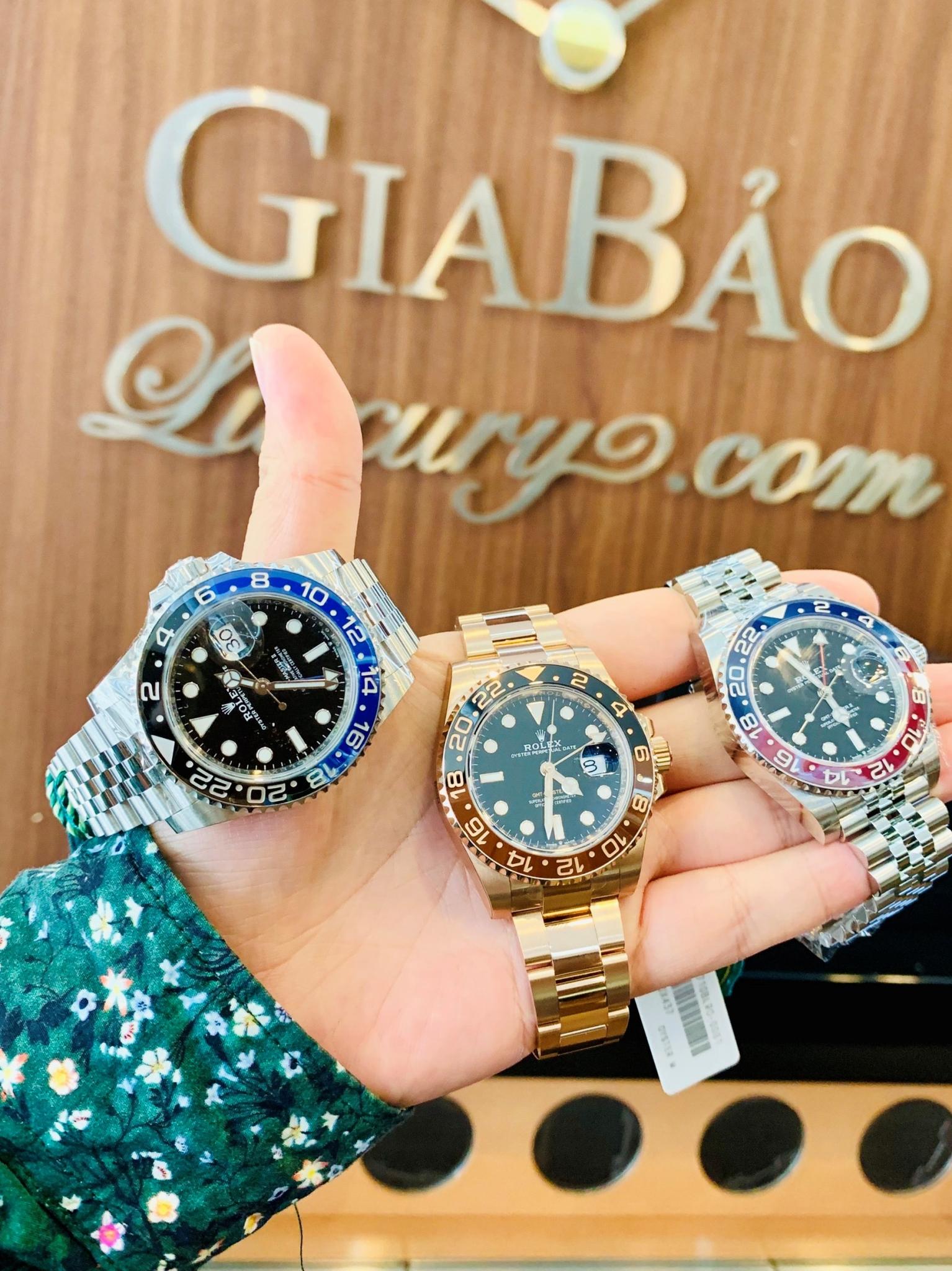 Đồng Hồ Rolex GMT-Master II 116710BLNR