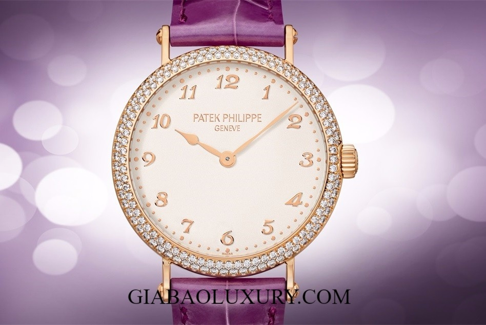 ĐỒNG HỒ PATEK PHILIPPER CALATRAVA 7200/200R ULTRA-THIN MECHANICAL SELF-WINDING MOVEMENT