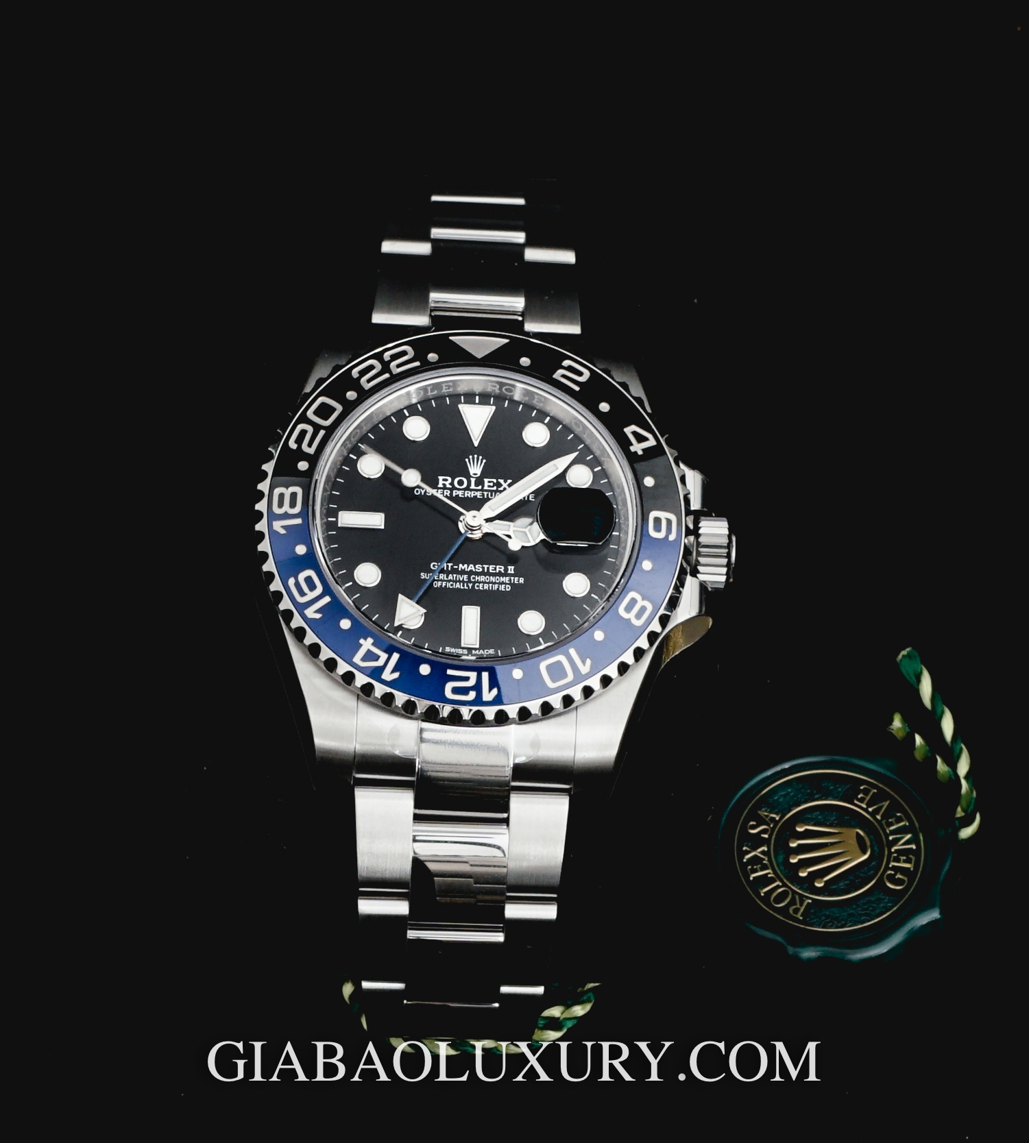 Đồng Hồ Rolex Oyster Perpetual GMT Master II-116710BLNR