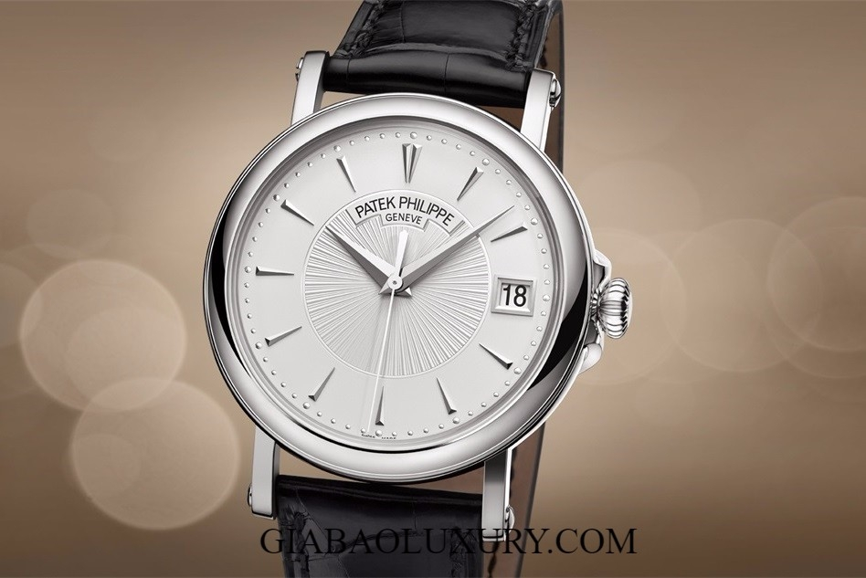 ĐỒNG HỒ PATEK PHILIPPE CALATRAVA - 5153G DATE, SWEEP SECONDS
