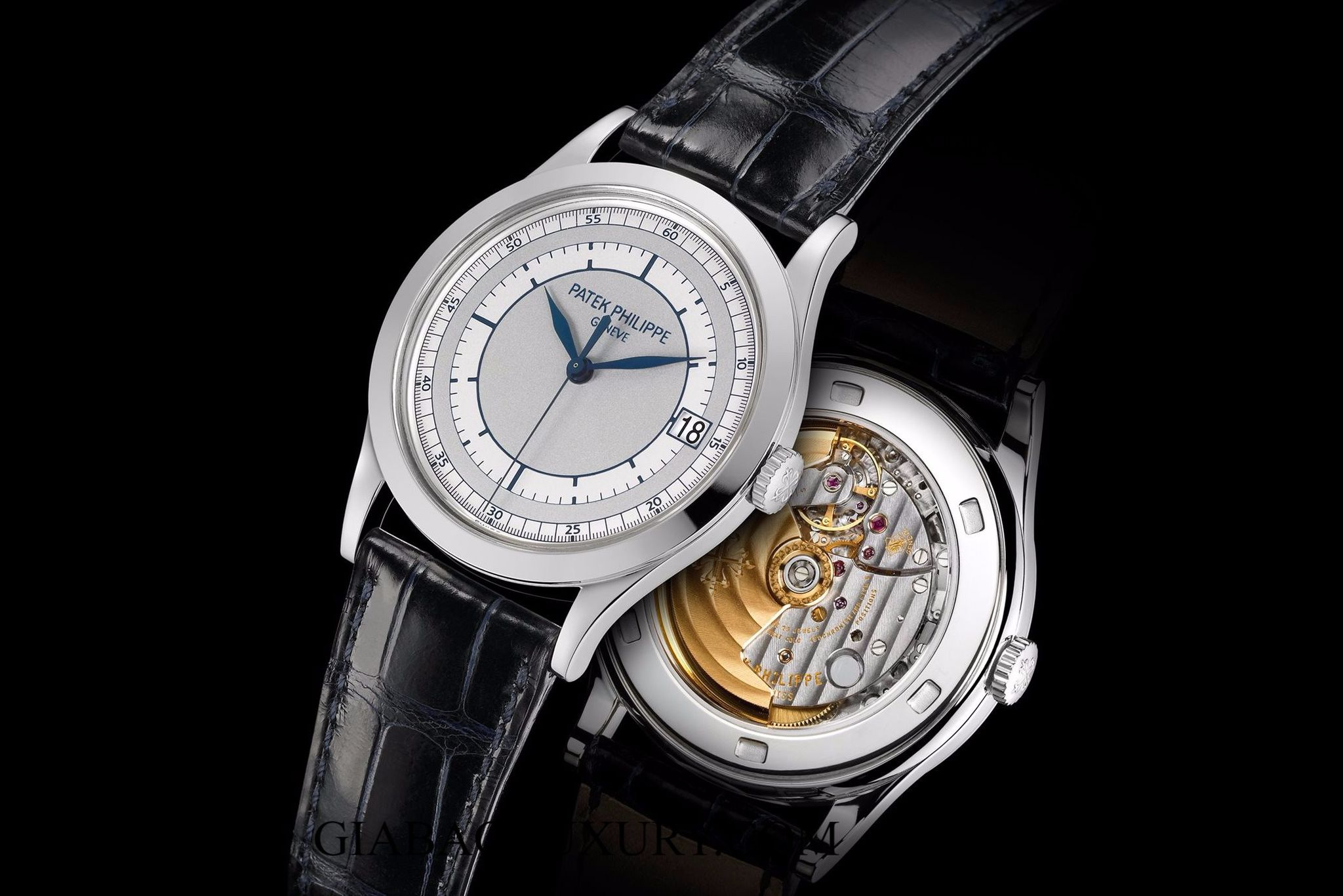 ĐỒNG HỒ PATEK PHILIPPER CALATRAVA 5296G DATE, SWEEP SECONDS