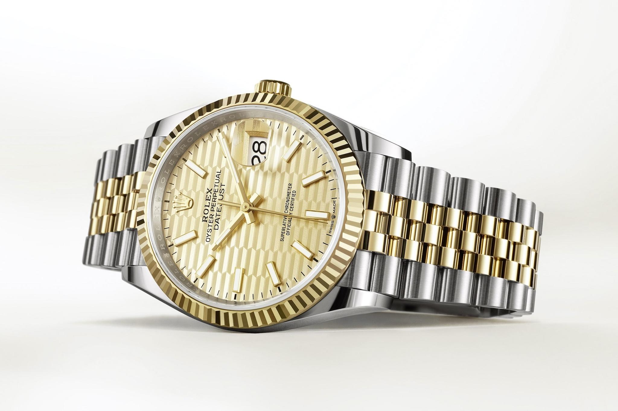 đồng hồ Rolex Datejust 36 của năm 2021
