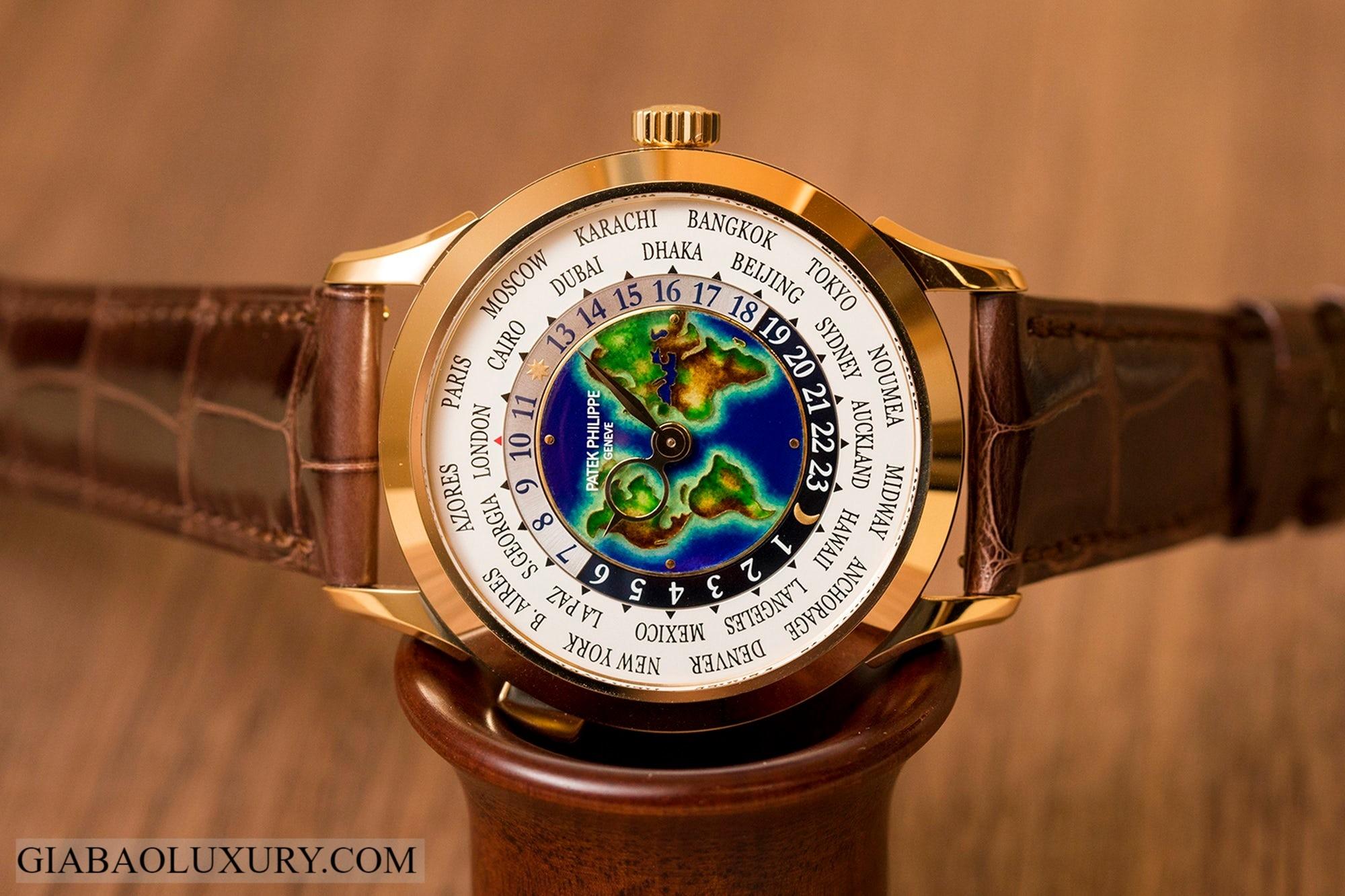 Giới thiệu đồng hồ Patek Philippe World Time 5231J