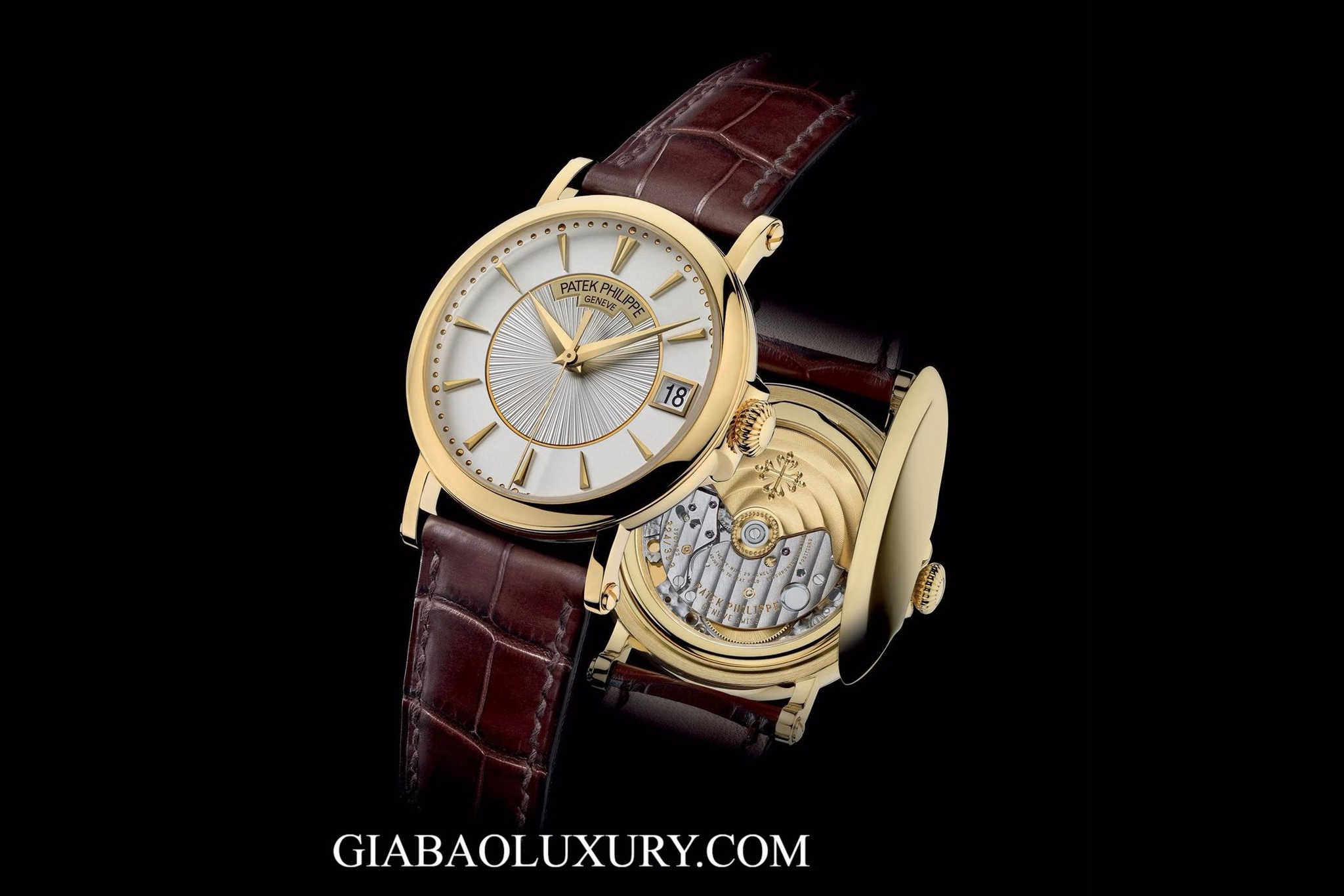 ĐỒNG HỒ PATEK PHILIPPE CALATRAVA - 5153J DATE, SWEEP SECONDS