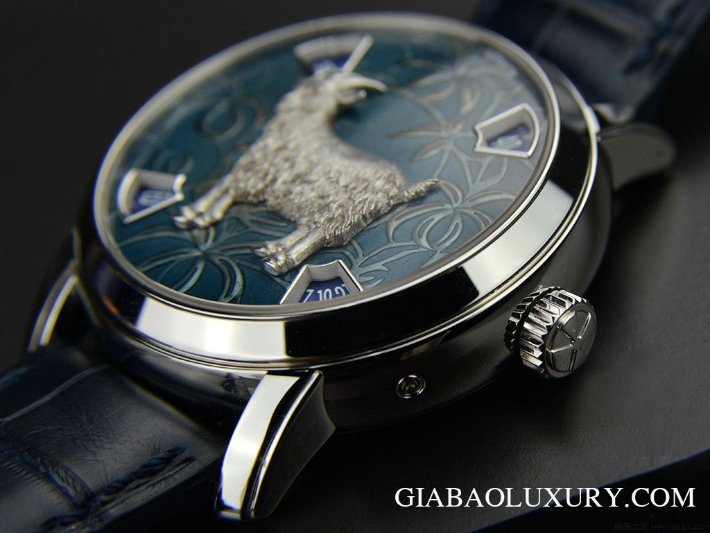Đồng Hồ Vacheron Constantin Chinese Zodiac Year Of The Goat 86073/000P-9890