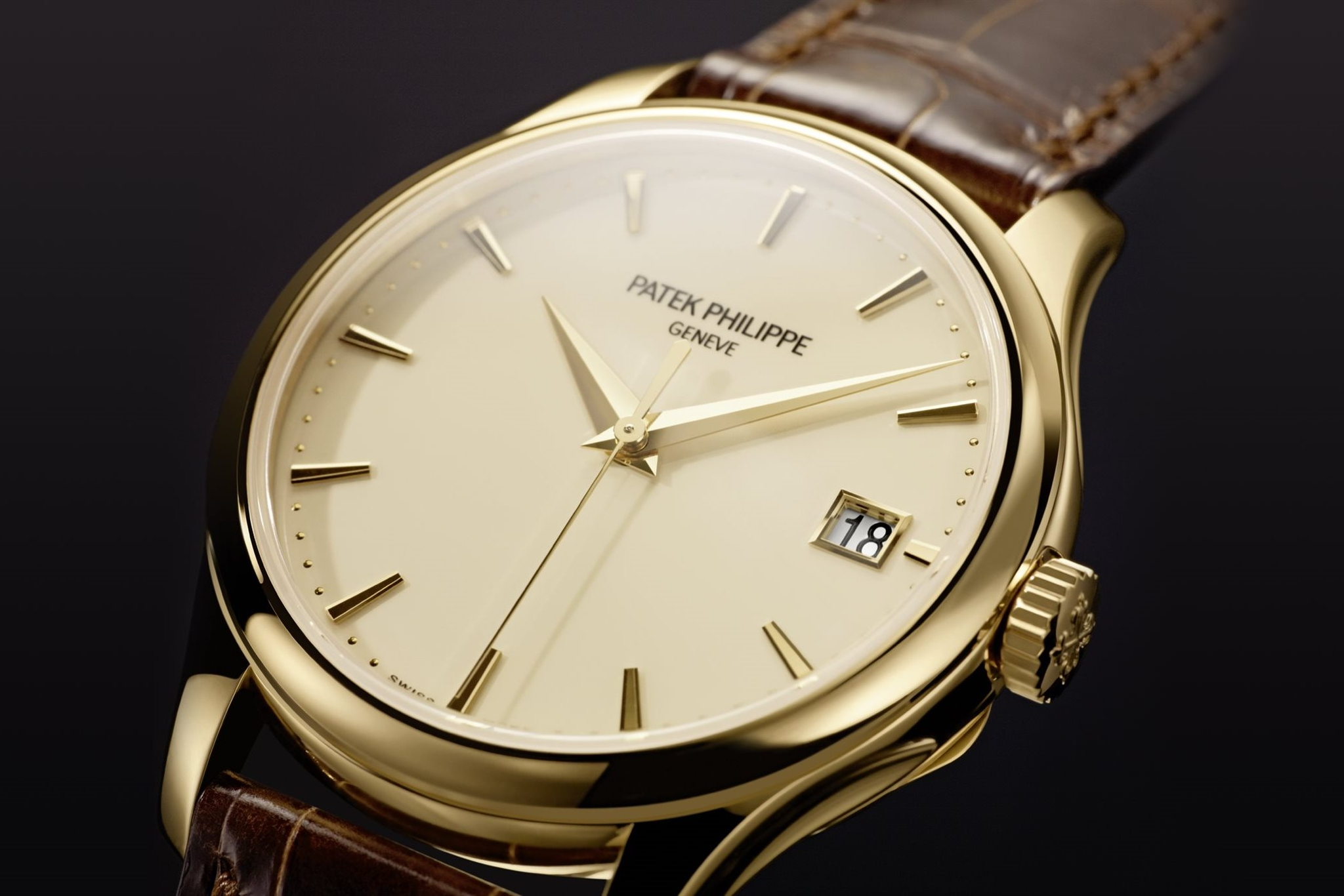 ĐỒNG HỒ PATEK PHILIPPER CALATRAVA 5227J DATE, SWEEP SECONDS