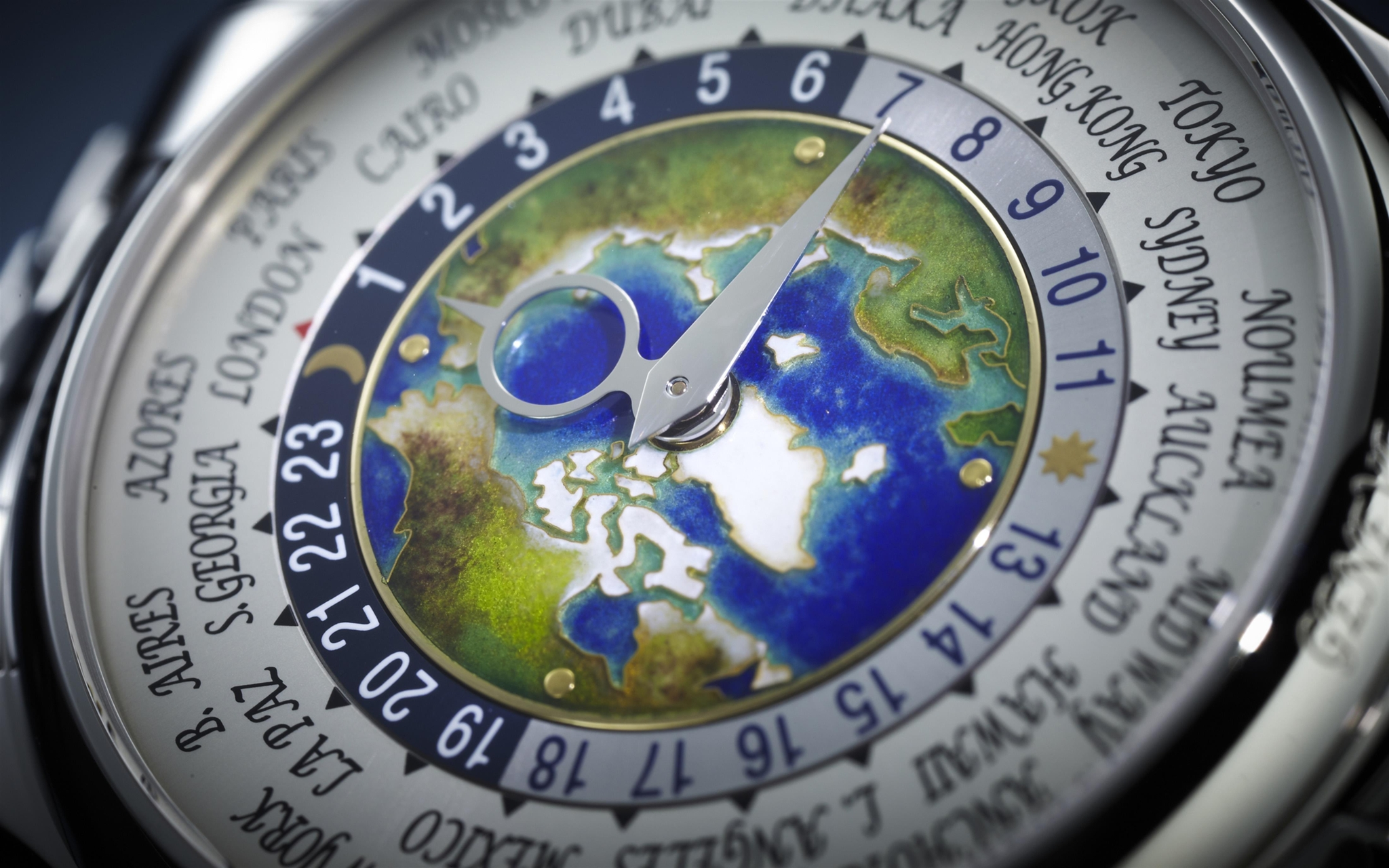 Patek Philippe World Time Ref.5131P