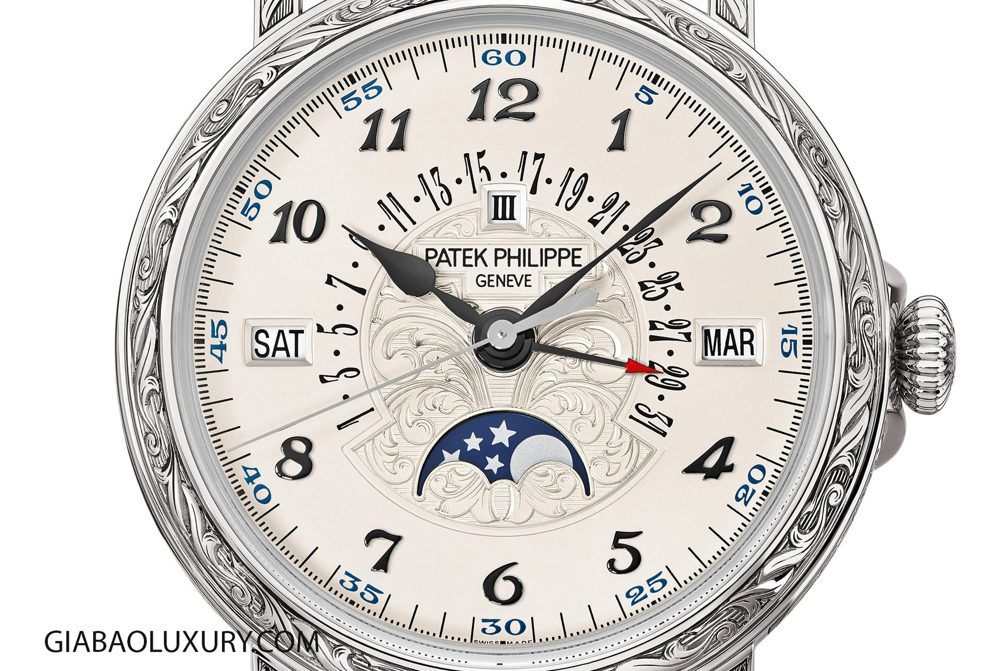 Đồng Hồ Patek Philippe 5160/500G Perpetual Calendar With Retrograde Date Hand