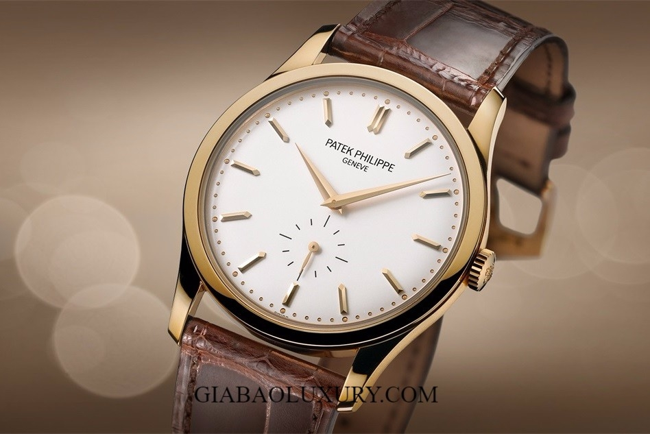 (ODER) ĐỒNG HỒ PATEK PHILIPPER CALATRAVA 5196J SMALL SECONDS