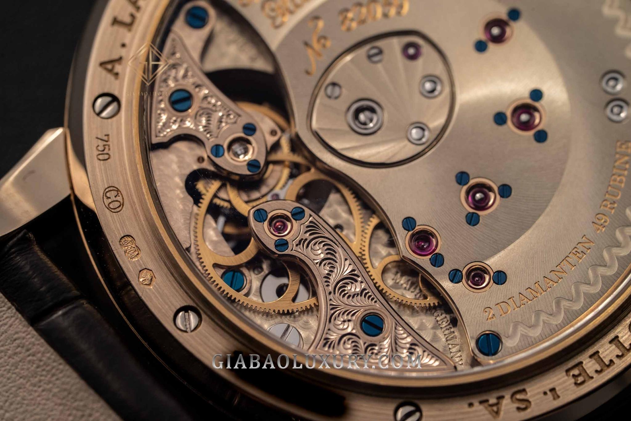 bộ máy đồng hồ A. Lange & Sohne Lange 1 Tourbillon ref. 722.050