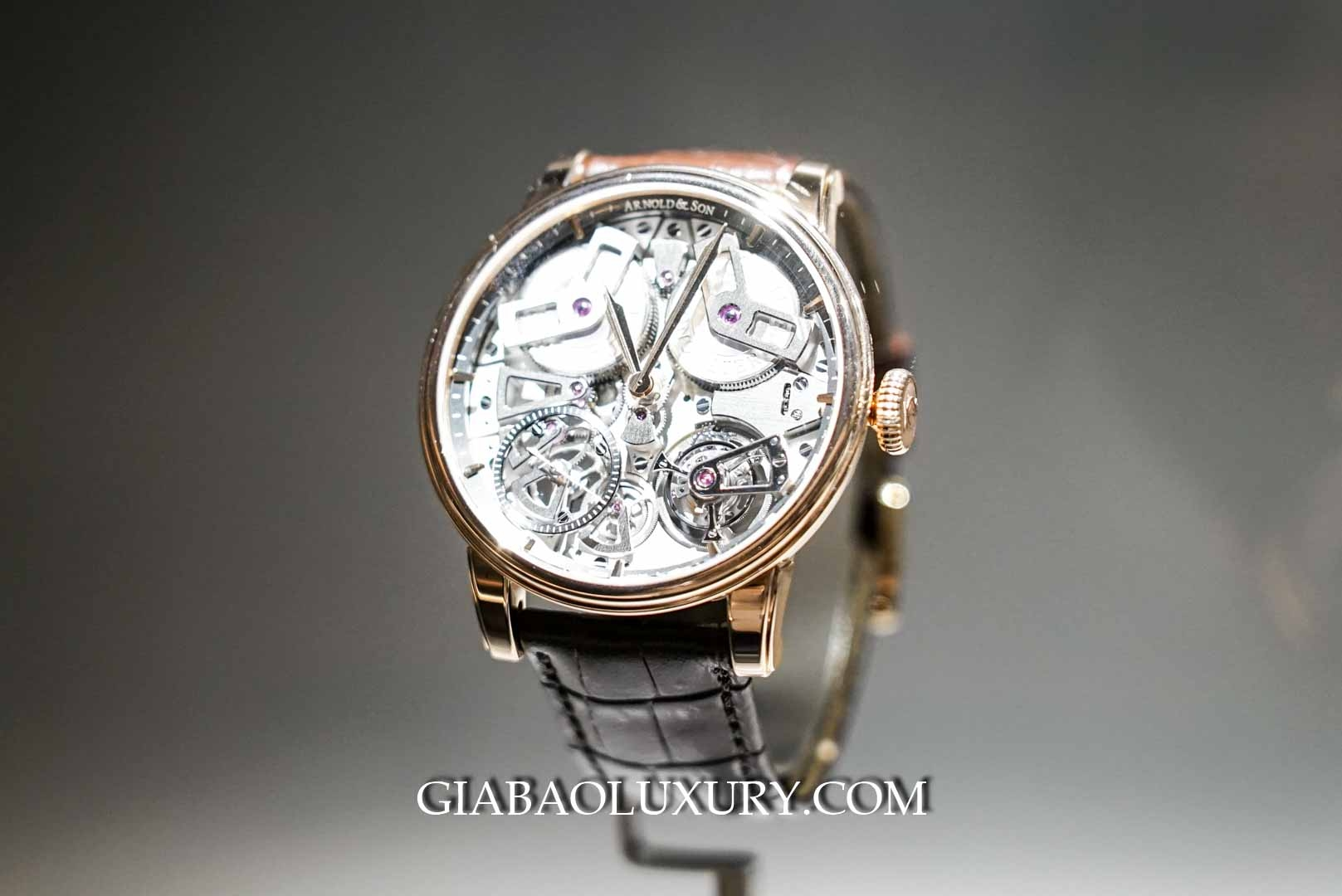 Đồng hồ Tourbillon Chronometer No. 36 Gunmetal