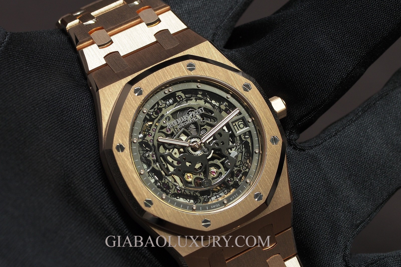 Đồng hồ Audemars Piguet Royal Oak Openworked Extra- Thin Skeleton 15204OR.OO.1240OR.01