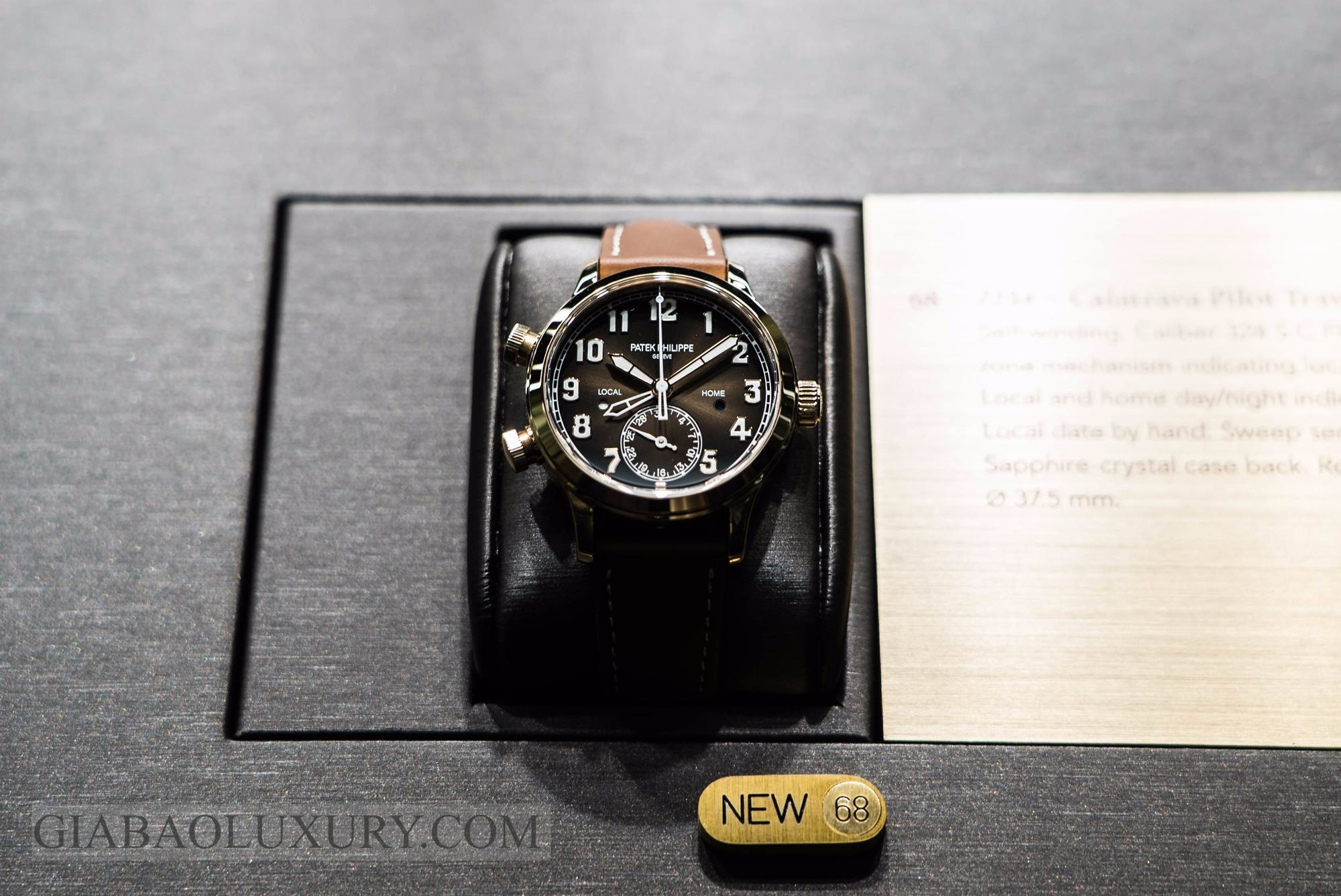 đồng hồ Patek PhilippeCalatrava Pilot Travel Time  7234R-001
