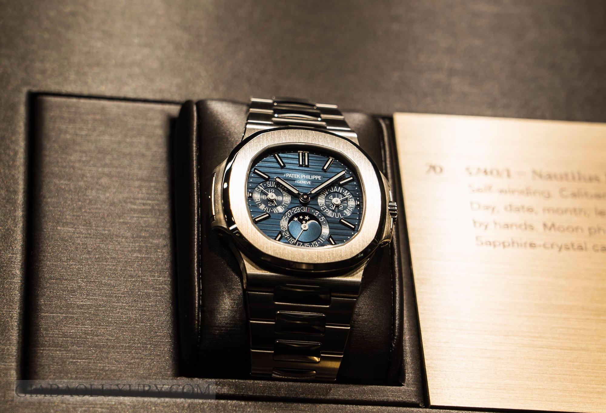 đồng hồ Nautilus 5740/1G-001 Perpetual Calendar