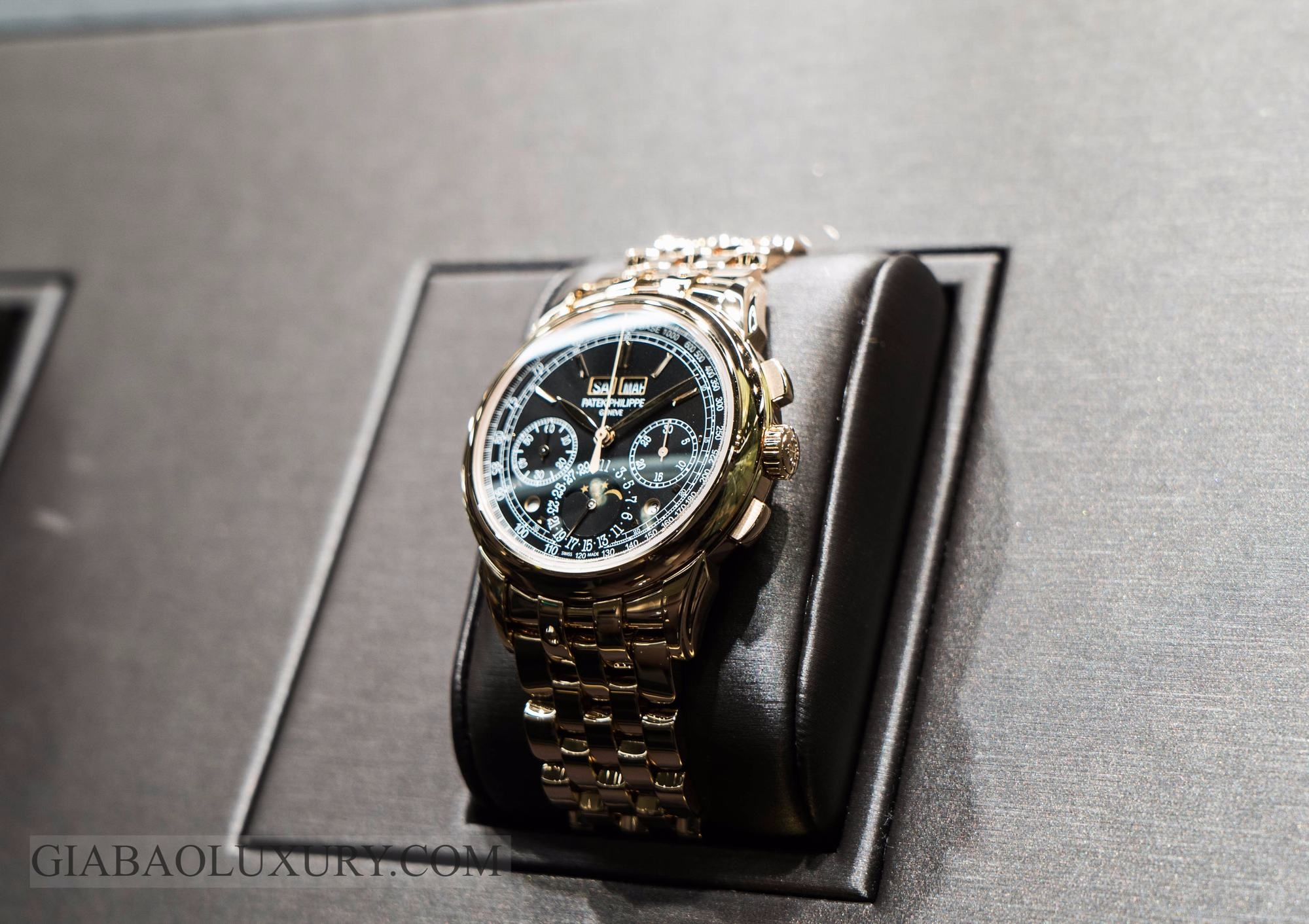 Đồng Hồ Patek Philippe Grand Complication Chronograph Perpetual Calendar
