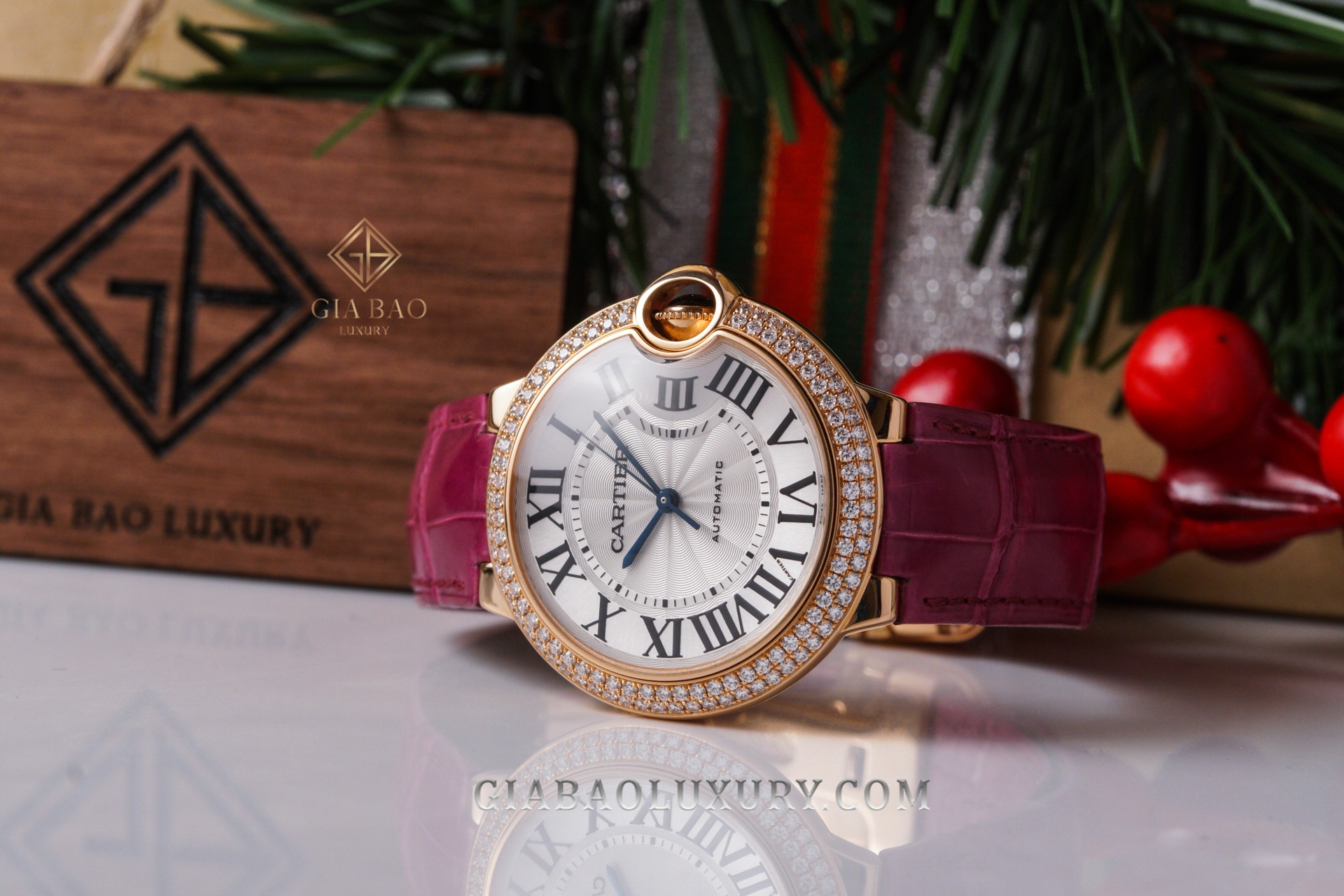 Đồng Hồ Cartier Ballon Bleu de Cartier WE900551