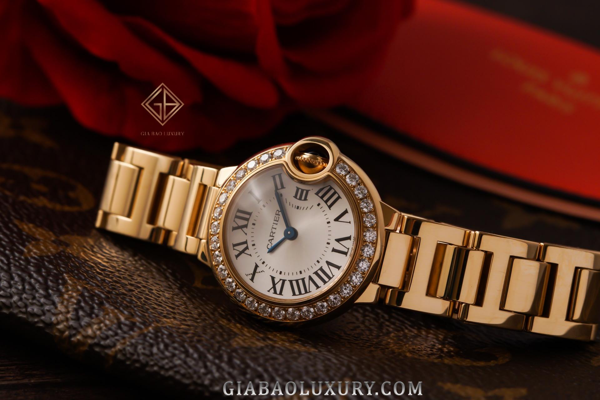 đồng hồ Cartier Ballon Bleu de Cartier WE9001Z3