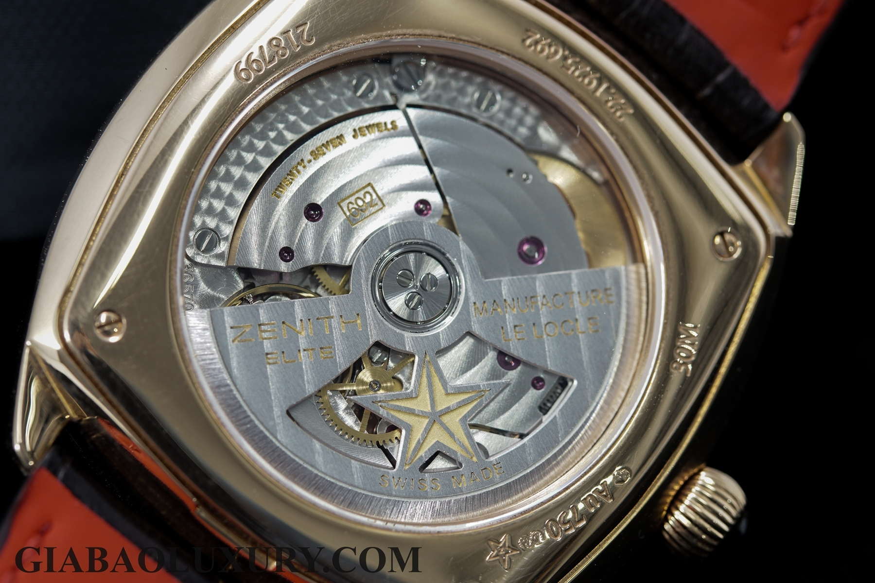 Đồng hồ Zenith Heritage Star Moonphase