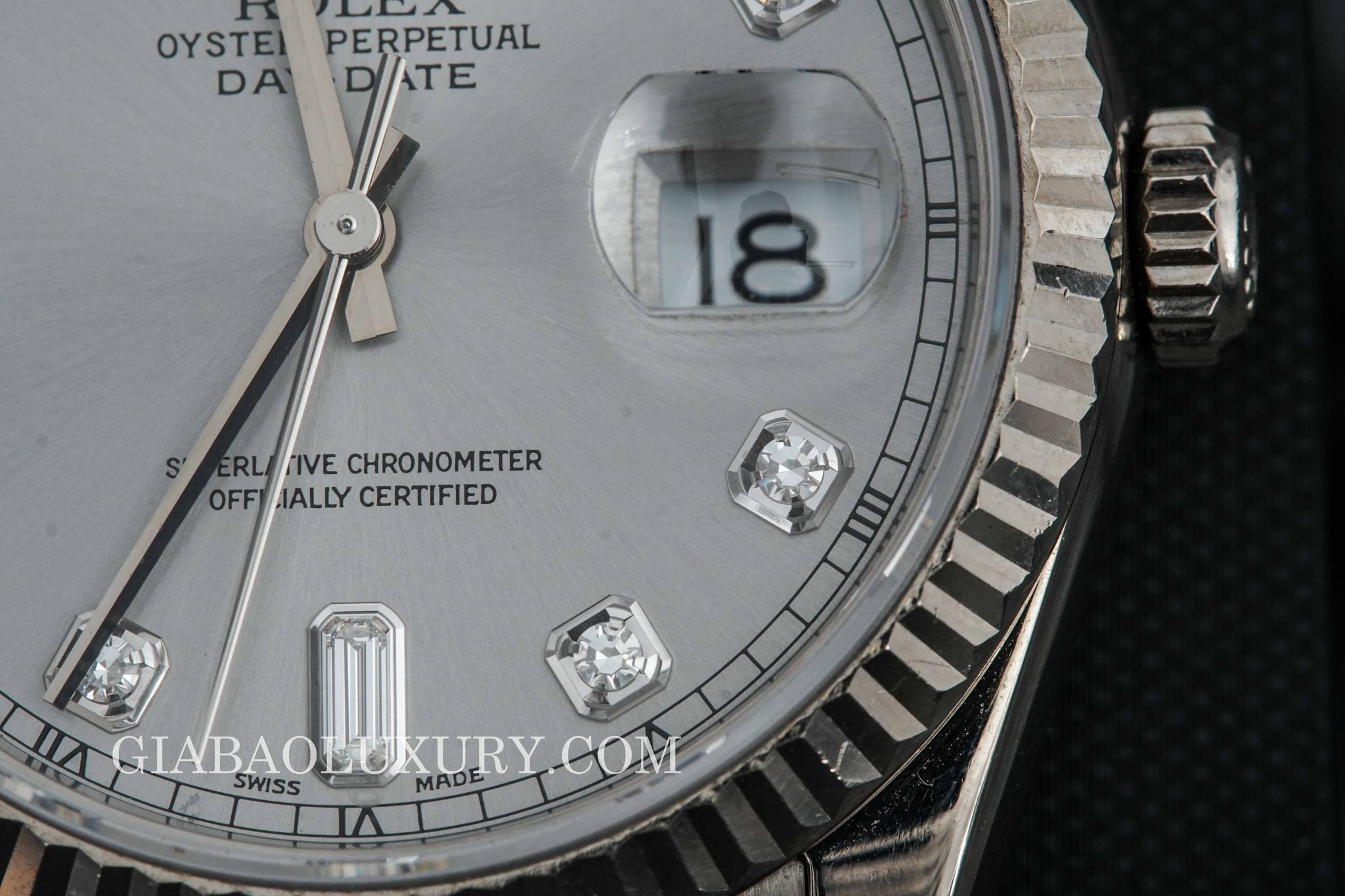 đồng hồ rolex day date 118209