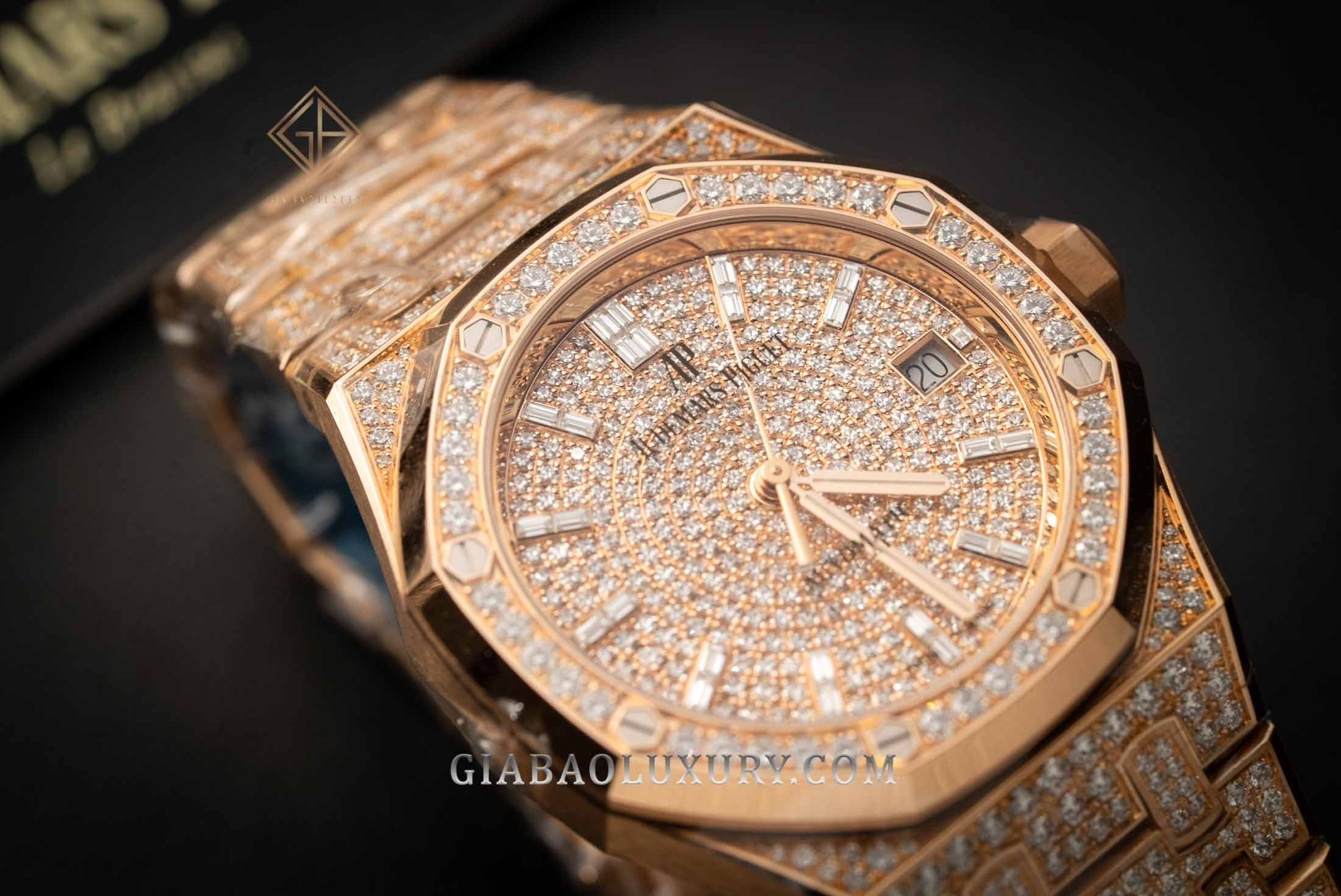 Đồng hồ Audemars Piguet Royal Oak Selfwinding Diamonds 15452OR.ZZ.1258OR.02