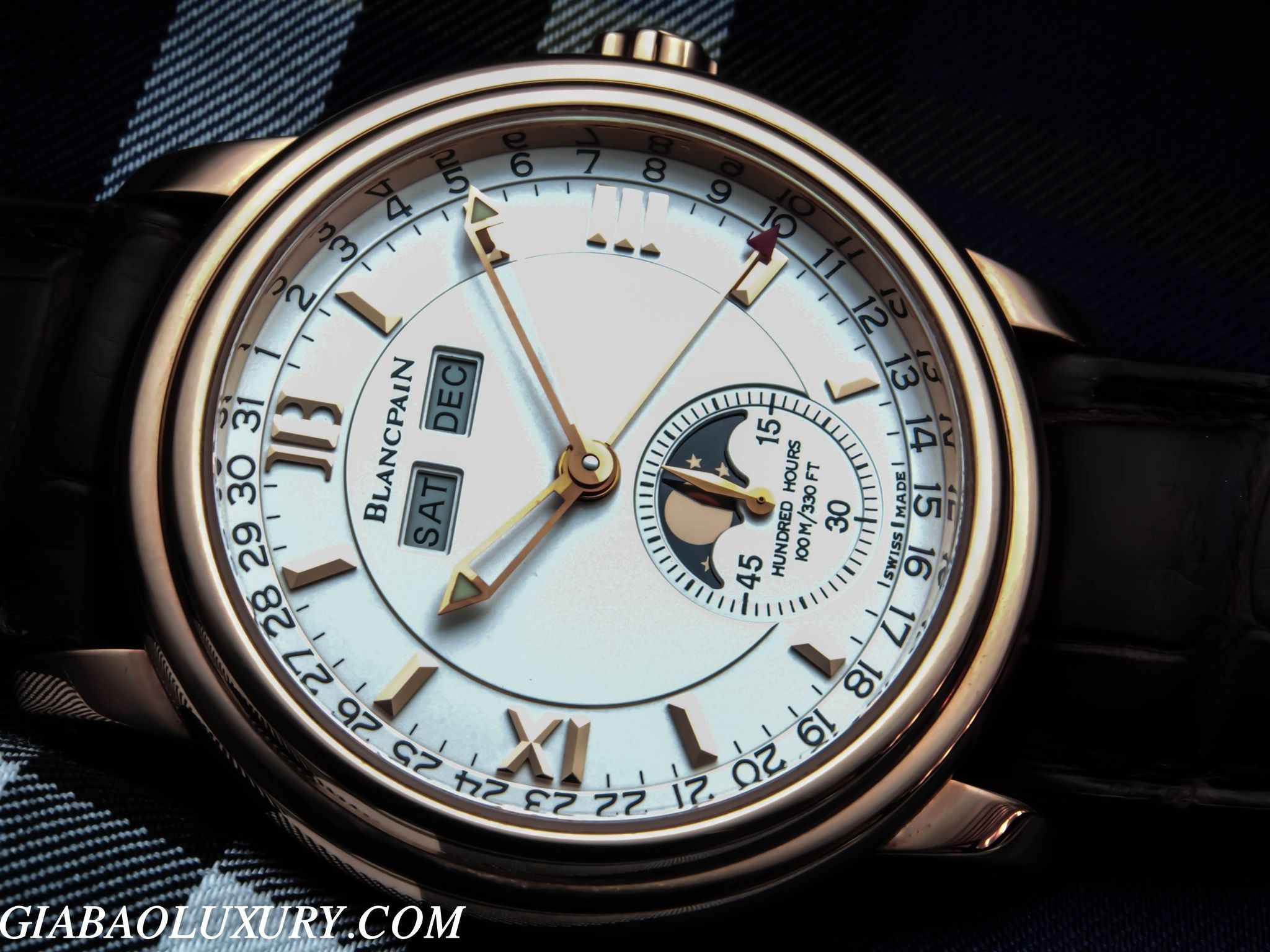 ĐỒNG HỒ BLANCPAIN LEMAN COMPLETE CALENDAR MOONPHASE