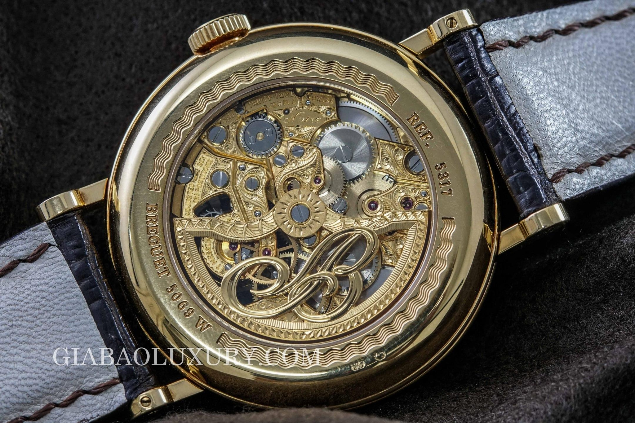 đồng hồ breguet tourbillon five days