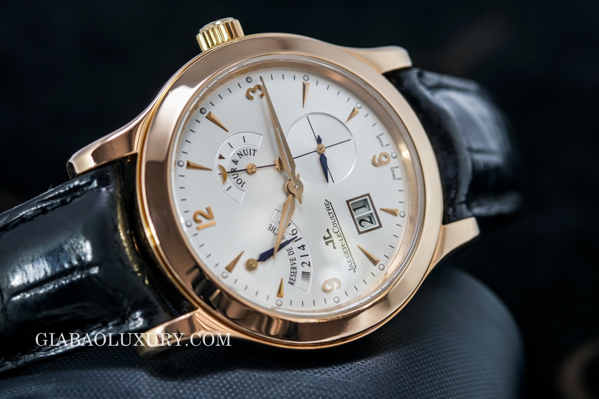 Đồng Hồ Jaeger Le Coultre Master Eight Days Power Reserve