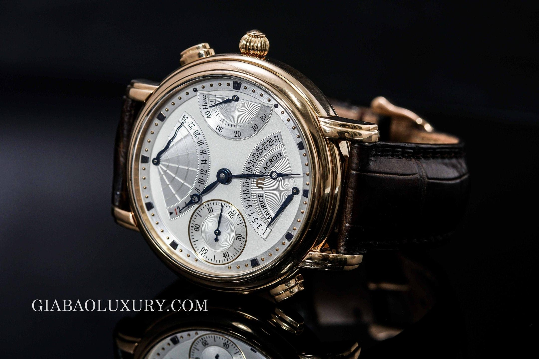 đồng hồ maurice lacroix masterpiece double retrograde mp