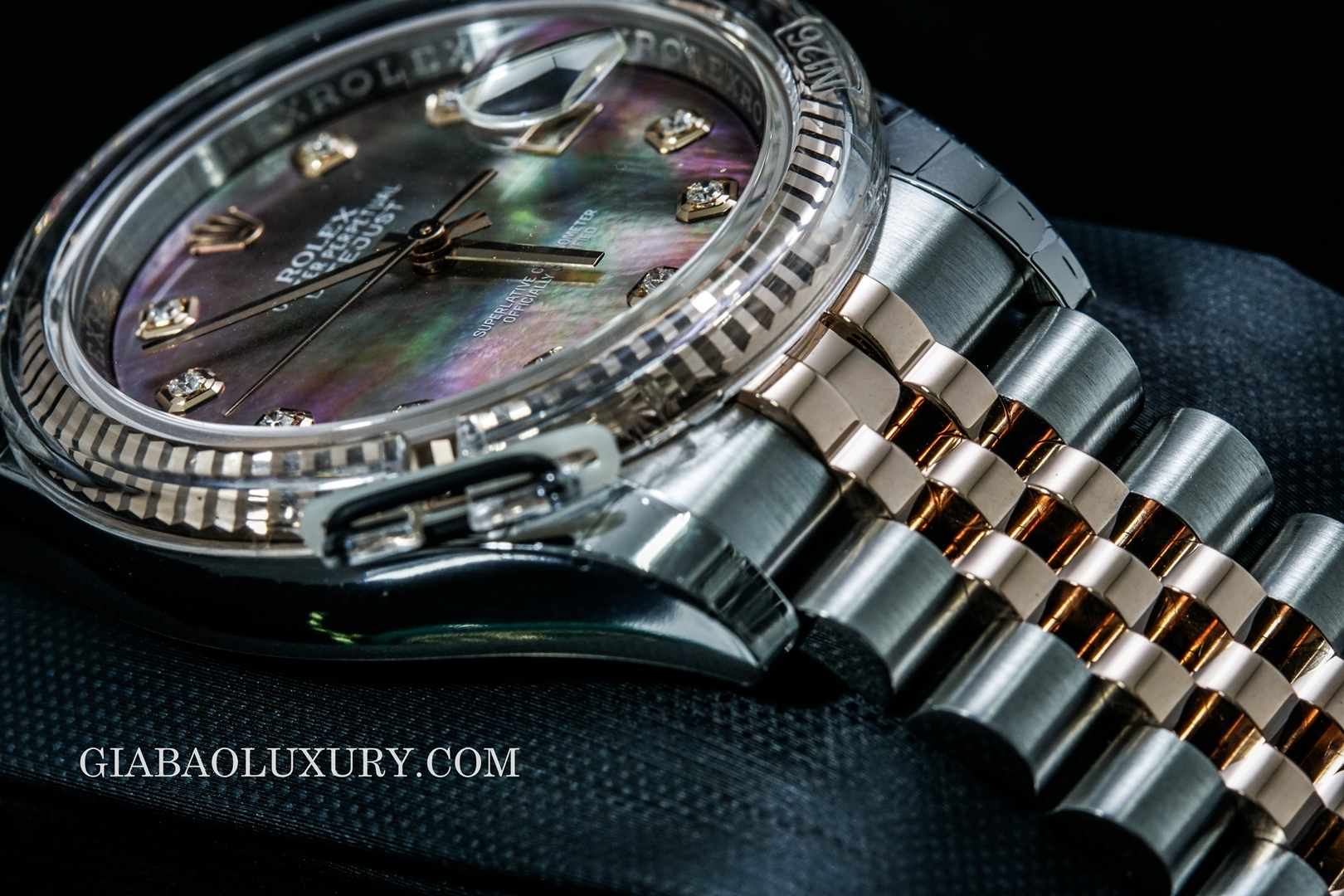 "đồng hồ rolex datejust ""mother of pearl"""
