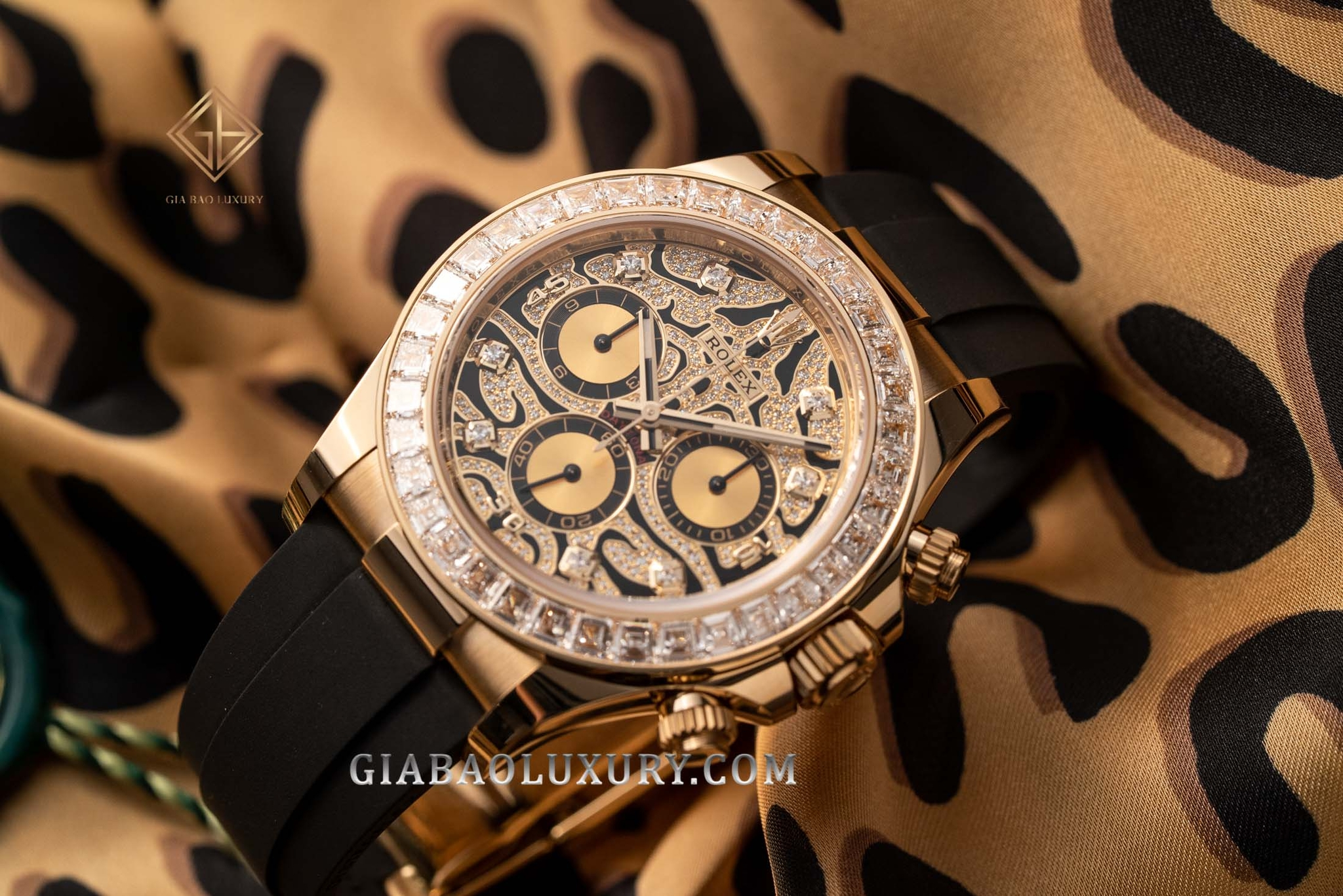 Đồng Hồ Rolex Cosmograph Daytona 116588TBR Eye Of Tiger