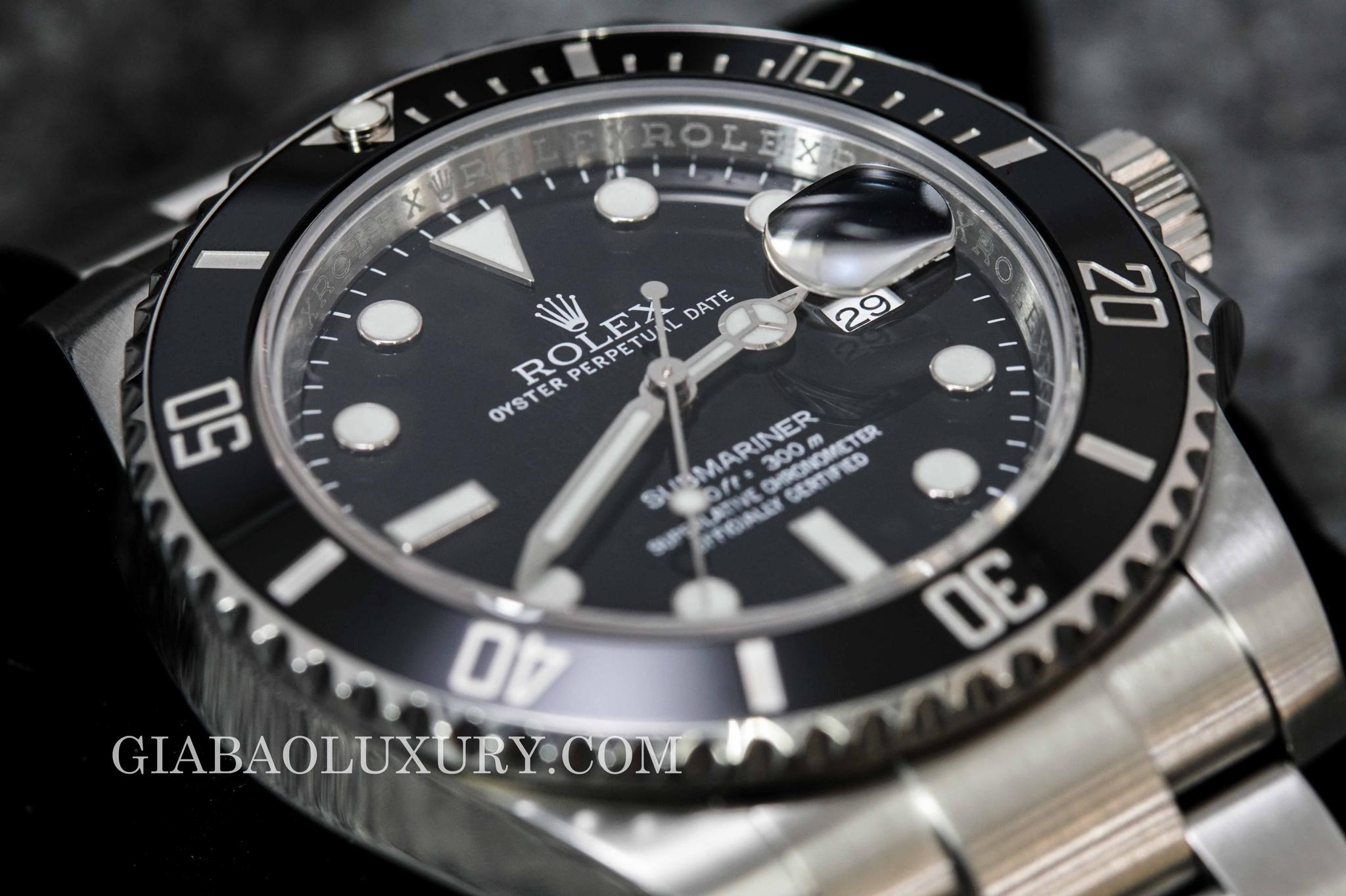 đồng hồ rolex submariner date 116610