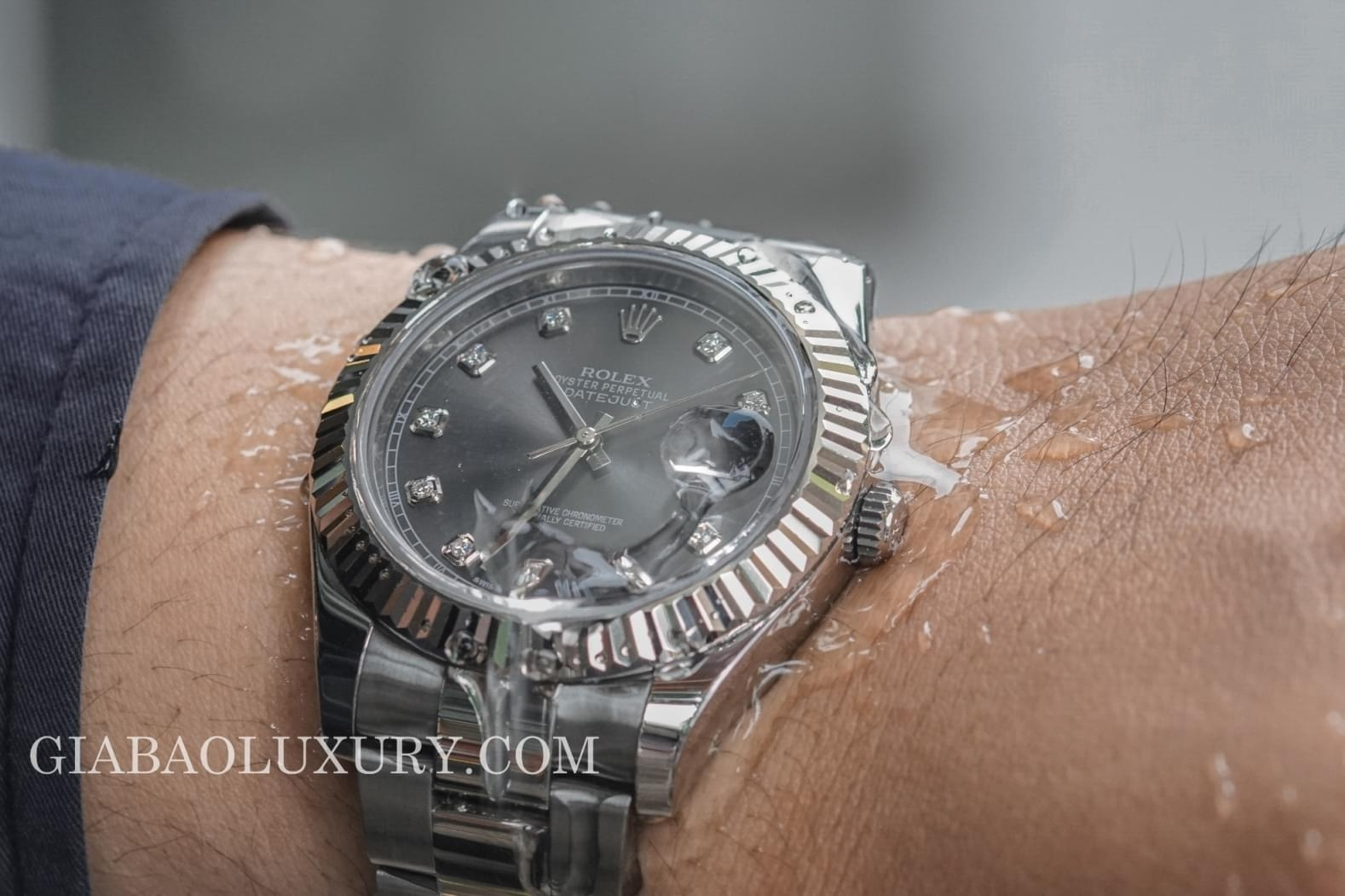 đồng hồ rolex date just 126334