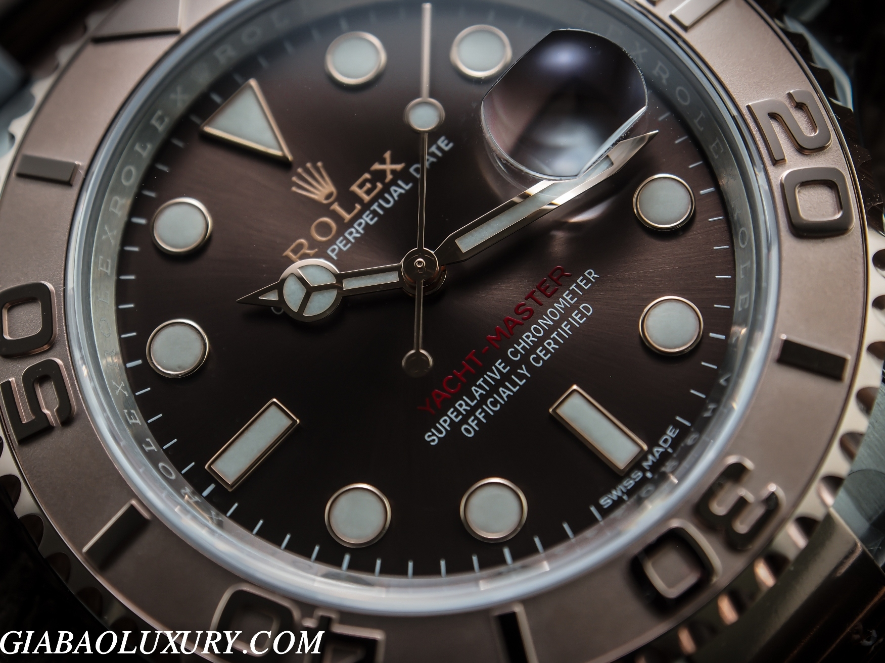 ĐỒNG HỒ ROLEX OYSTER PERPETUAL YACHT - MASTER