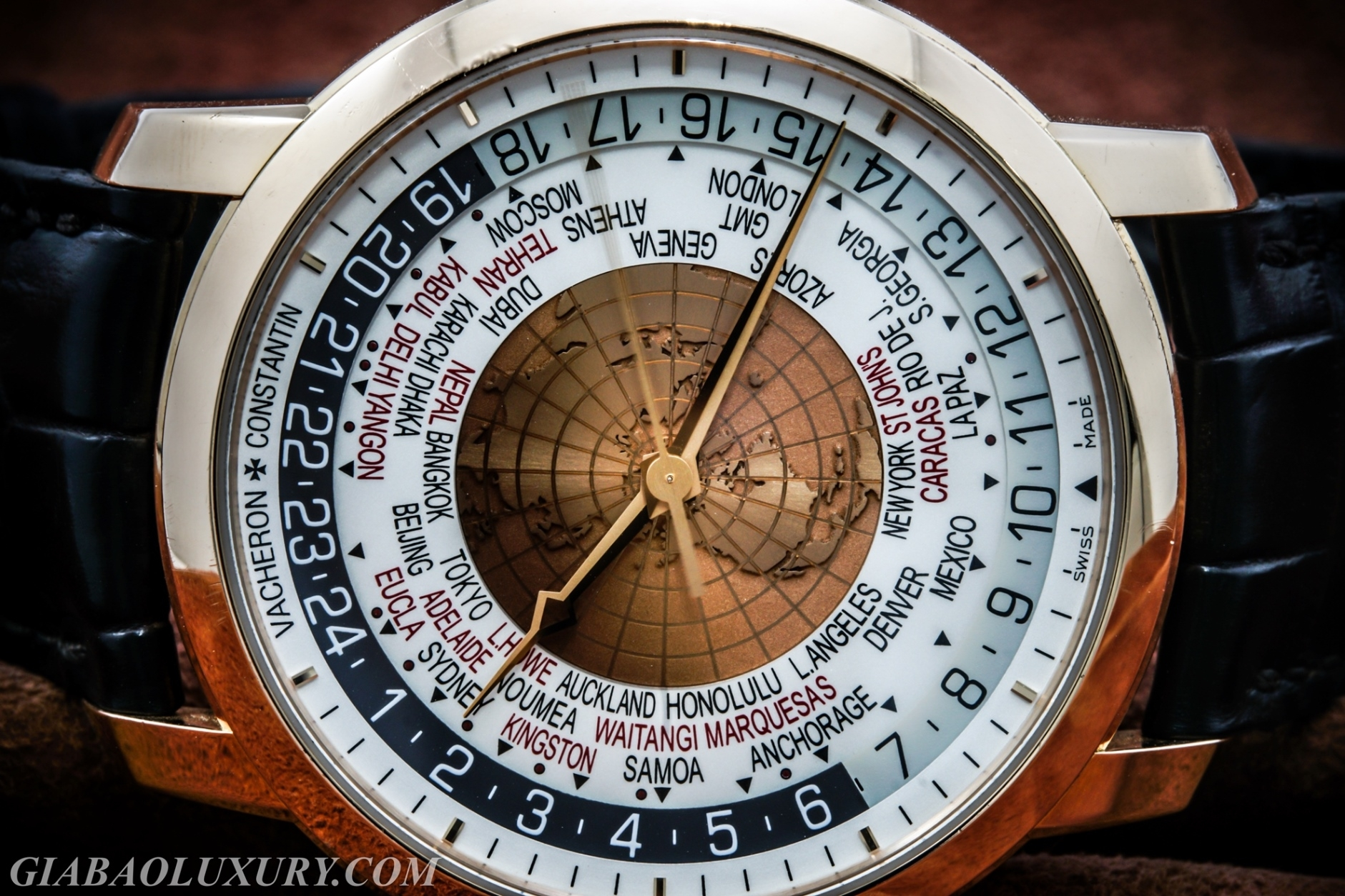ĐỒNG HỒ VACHERON CONSTANTIN TRADITIONNELLE WORLD TIME