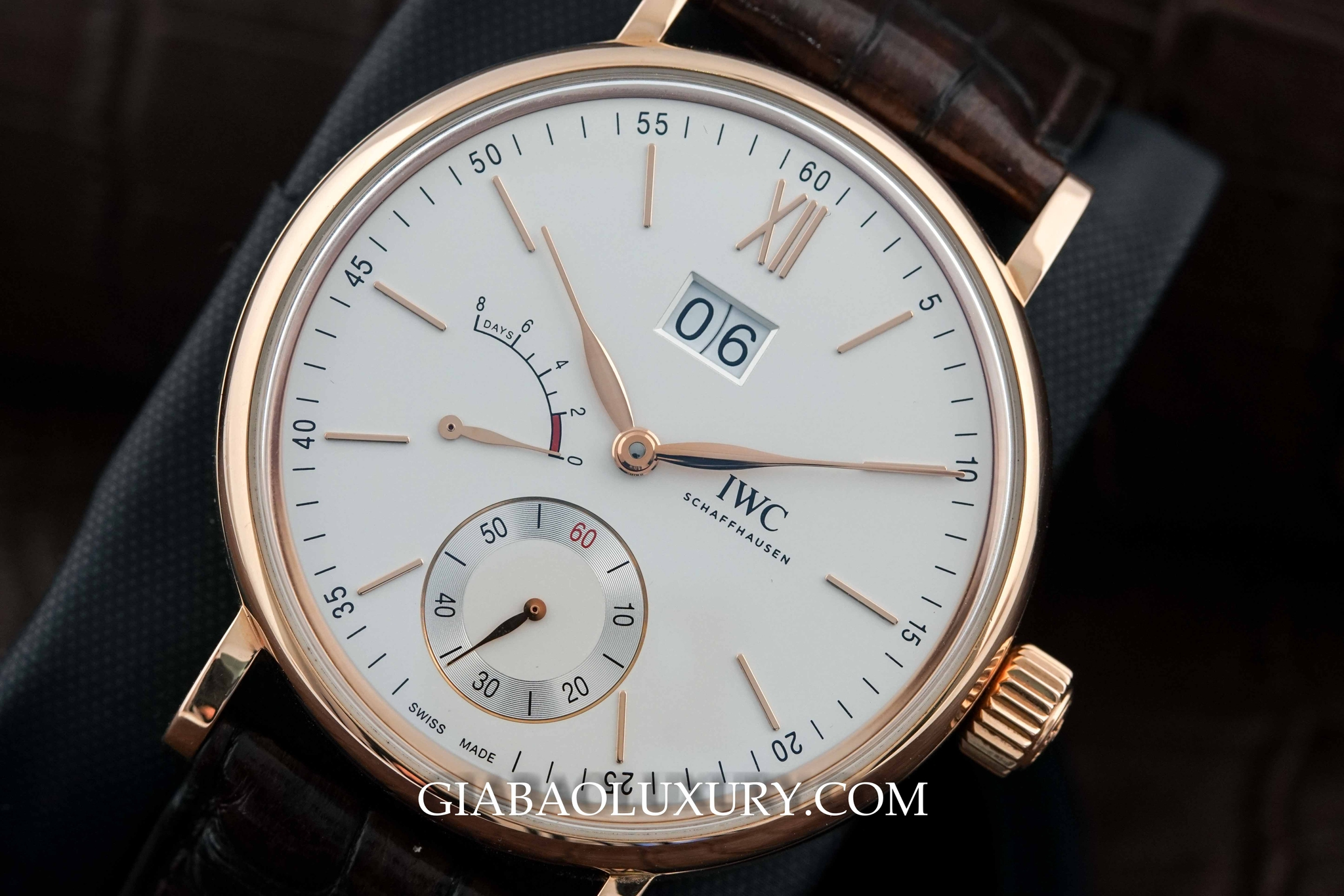 đồng hồ Iwc Portofino Hand-Wound Eight Days