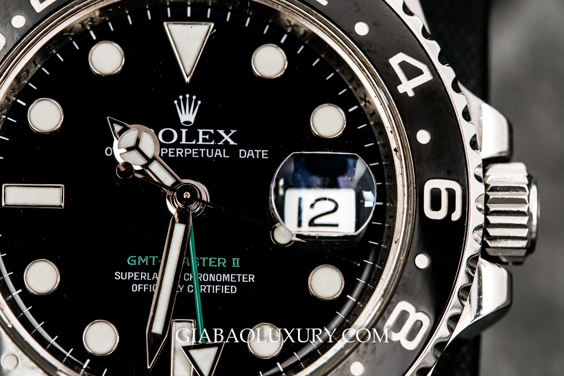 Đồng Hồ Rolex Oyster Perpetual GMT Master II 116710LN