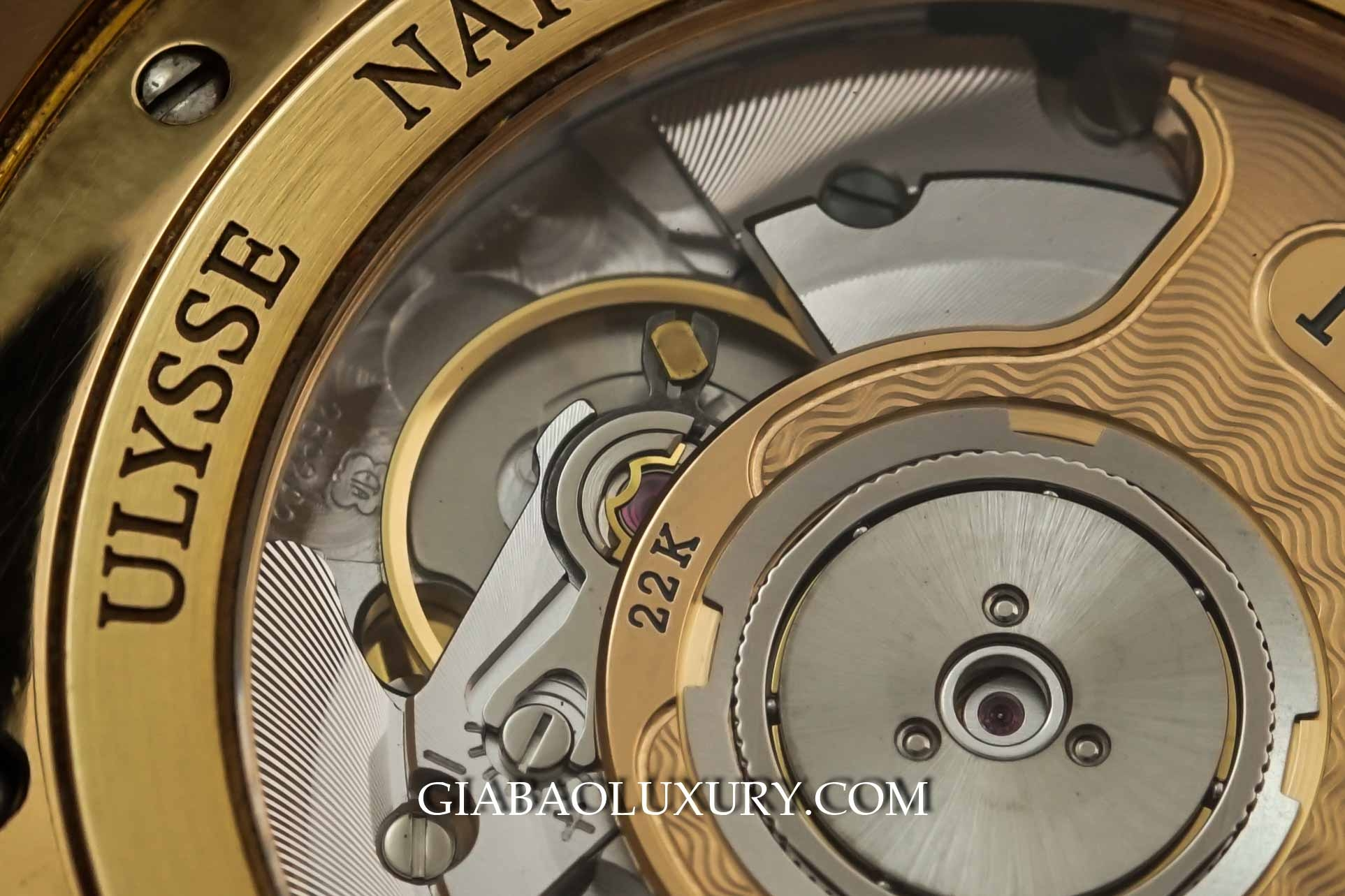 Đồng Hồ Ulysse Nardin Executive Dual Time Gmt