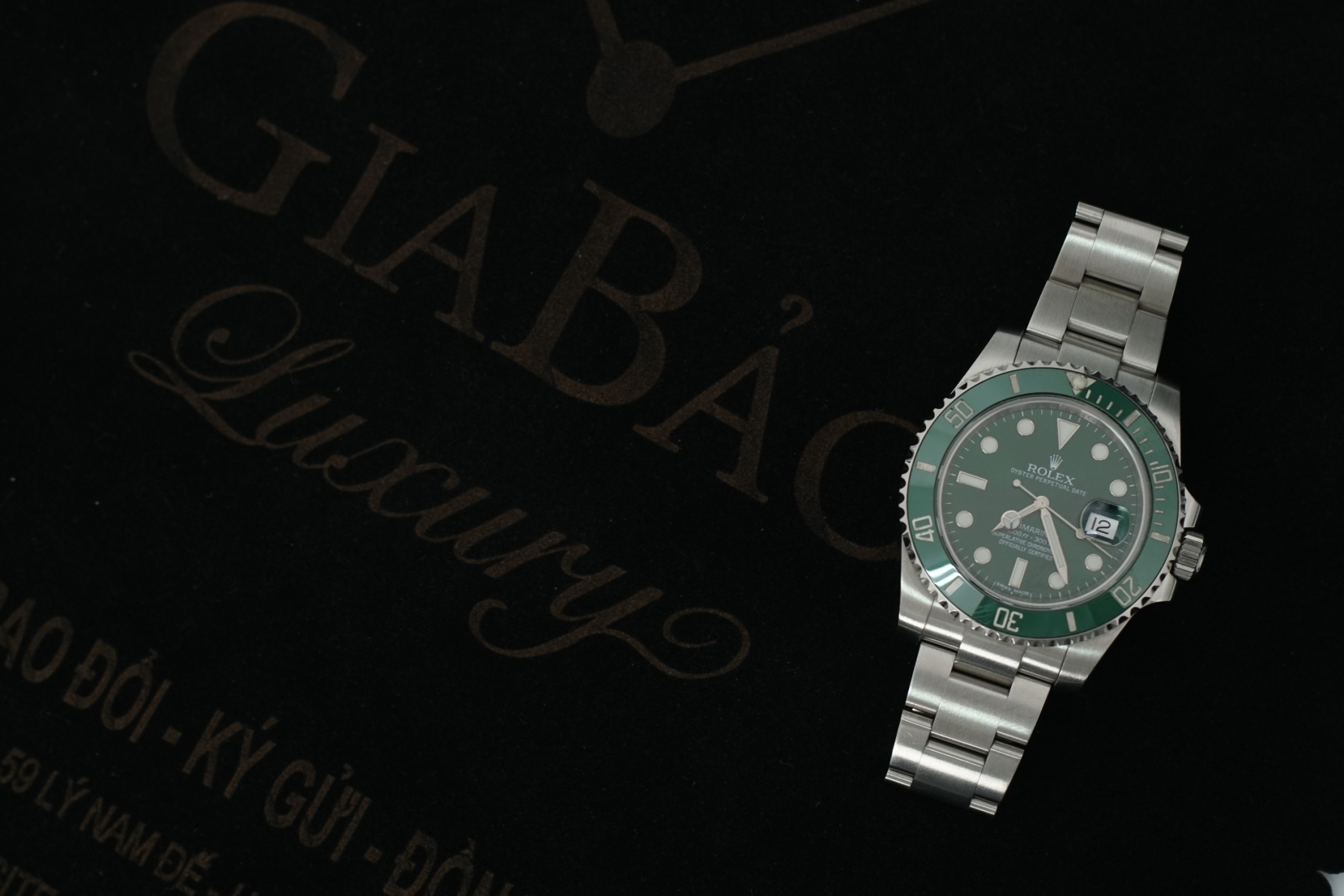 đồng hồ rolex submariner date 116610LV