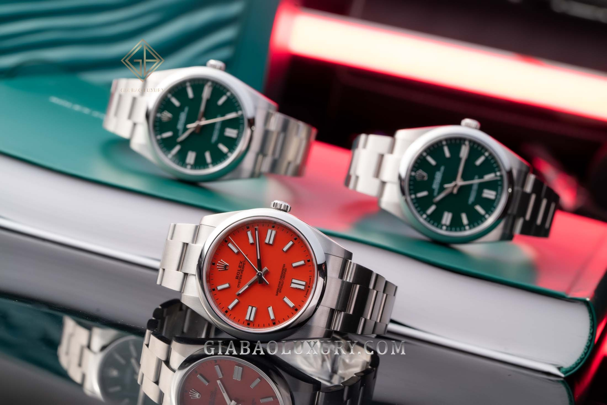 Rolex Oyster Perpetual ra mắt năm 2020