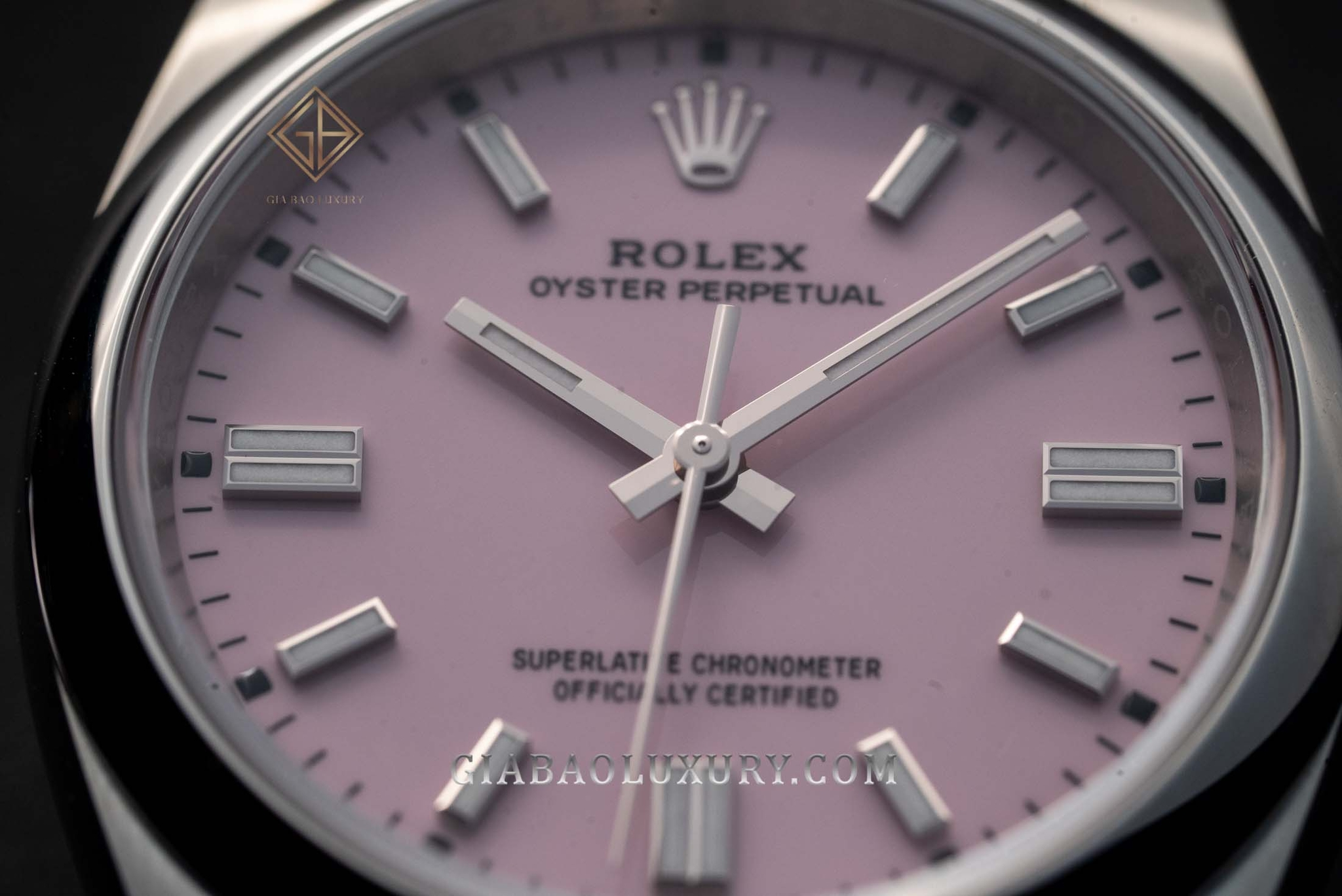 Đồng Hồ Rolex Oyster Perpetual 36 126000 Mặt Số Hồng Candy