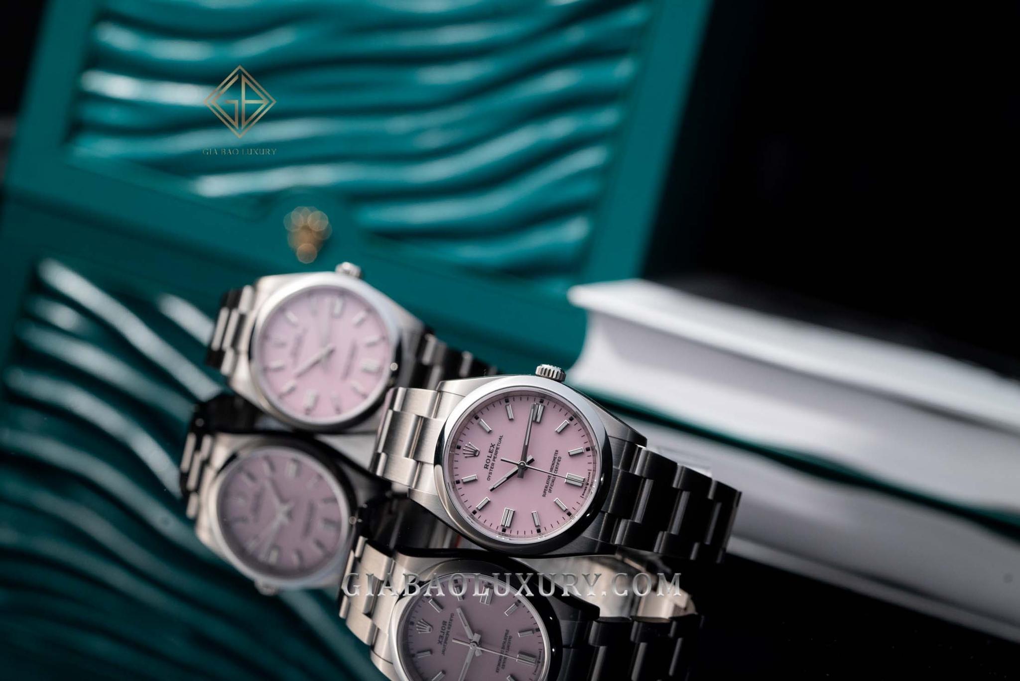 đồng hồ Rolex Oyster Perpetual năm 2020