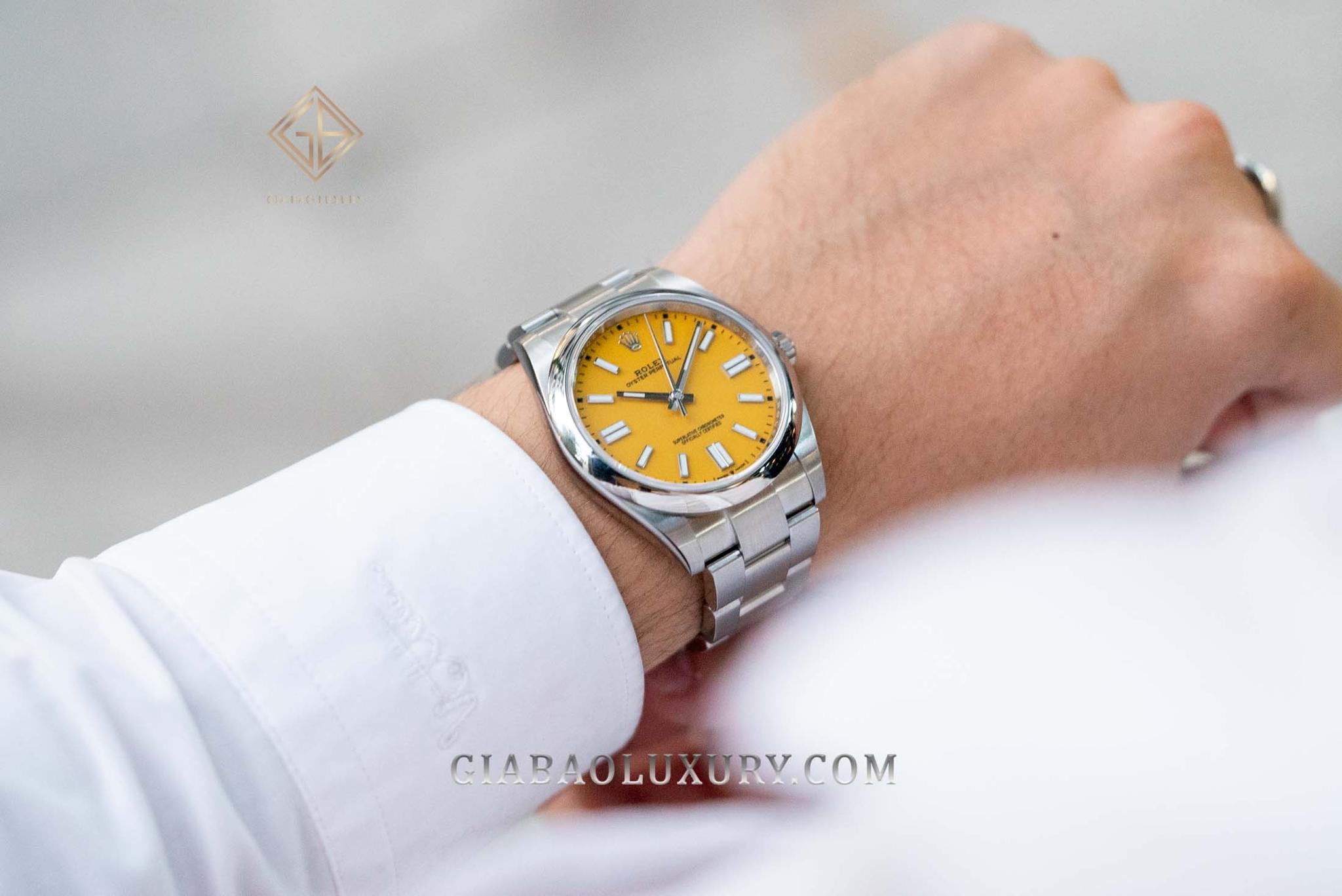 Đâu là đồng hồ Rolex Oyster Perpetual 2020 phù hợp nhất dành cho bạn?