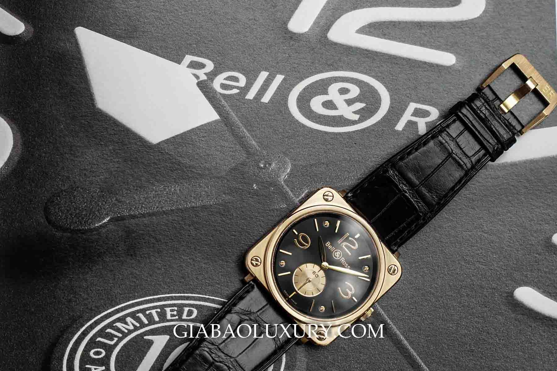 Đồng Hồ Bell & Ross BRS Rose Gold Black Dial